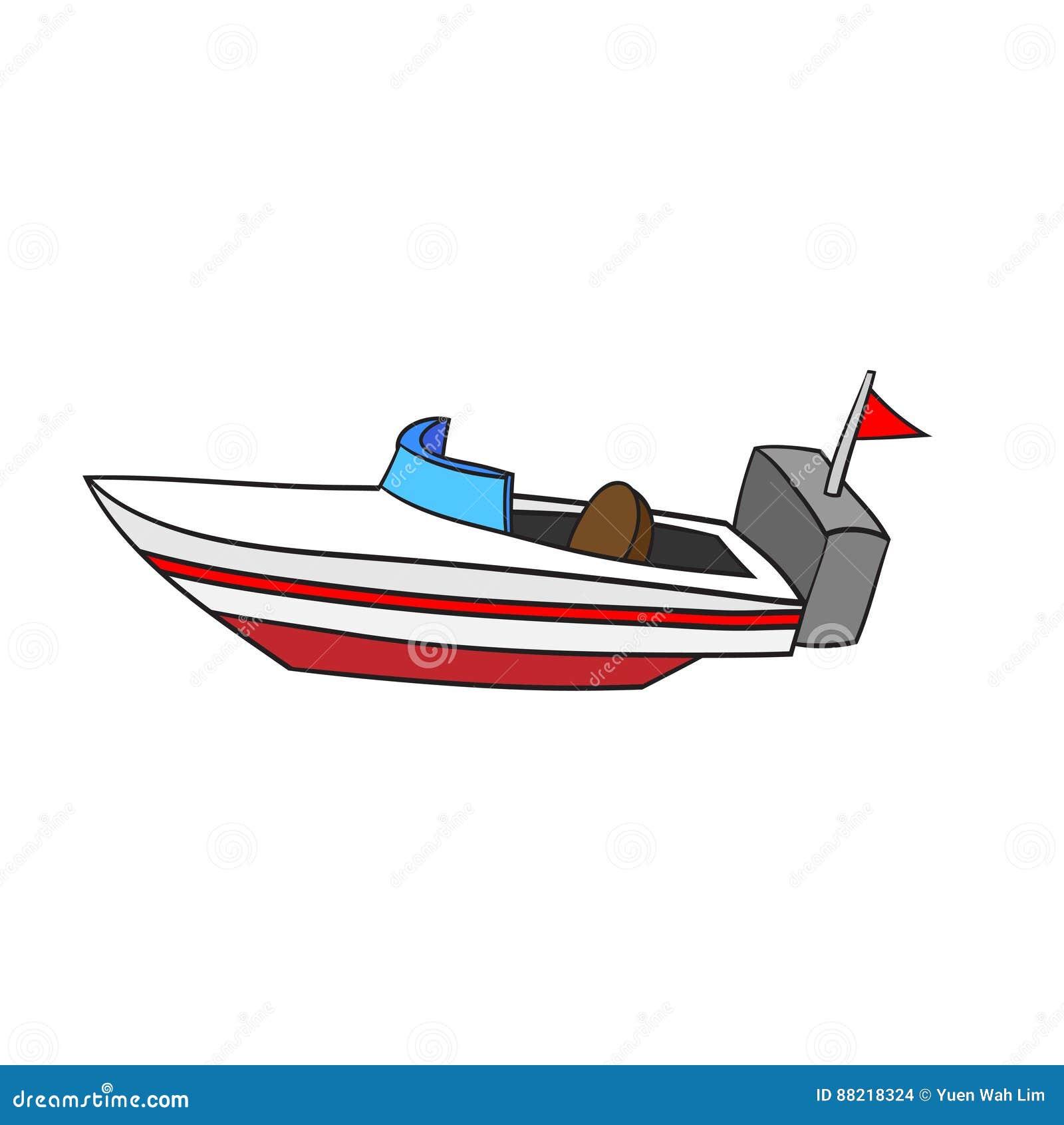 Cartoon Speed Boat Stock Illustrations - 1,795 Cartoon ...