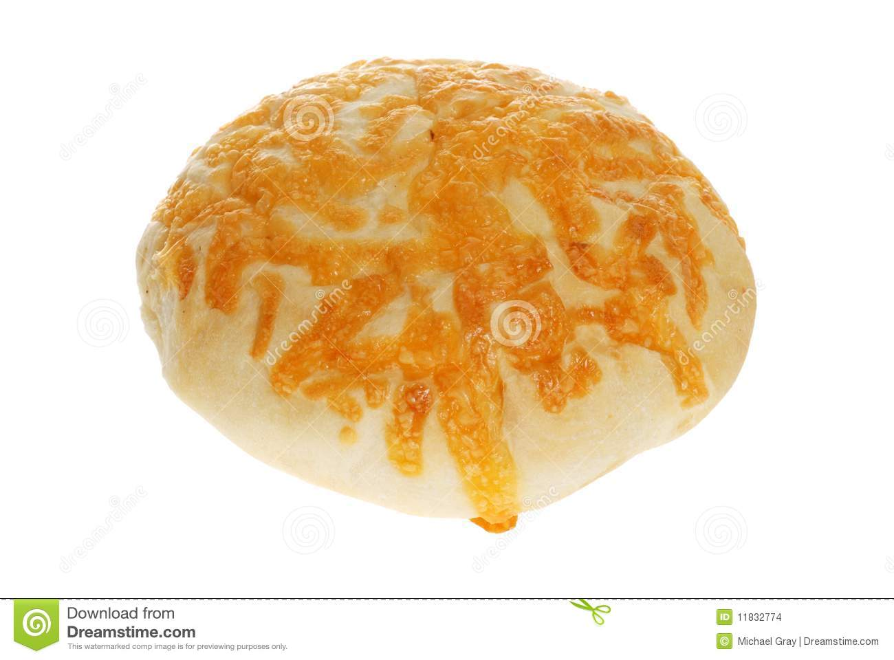 Isolated Cheese Bun Stock Images - Image: 11832774