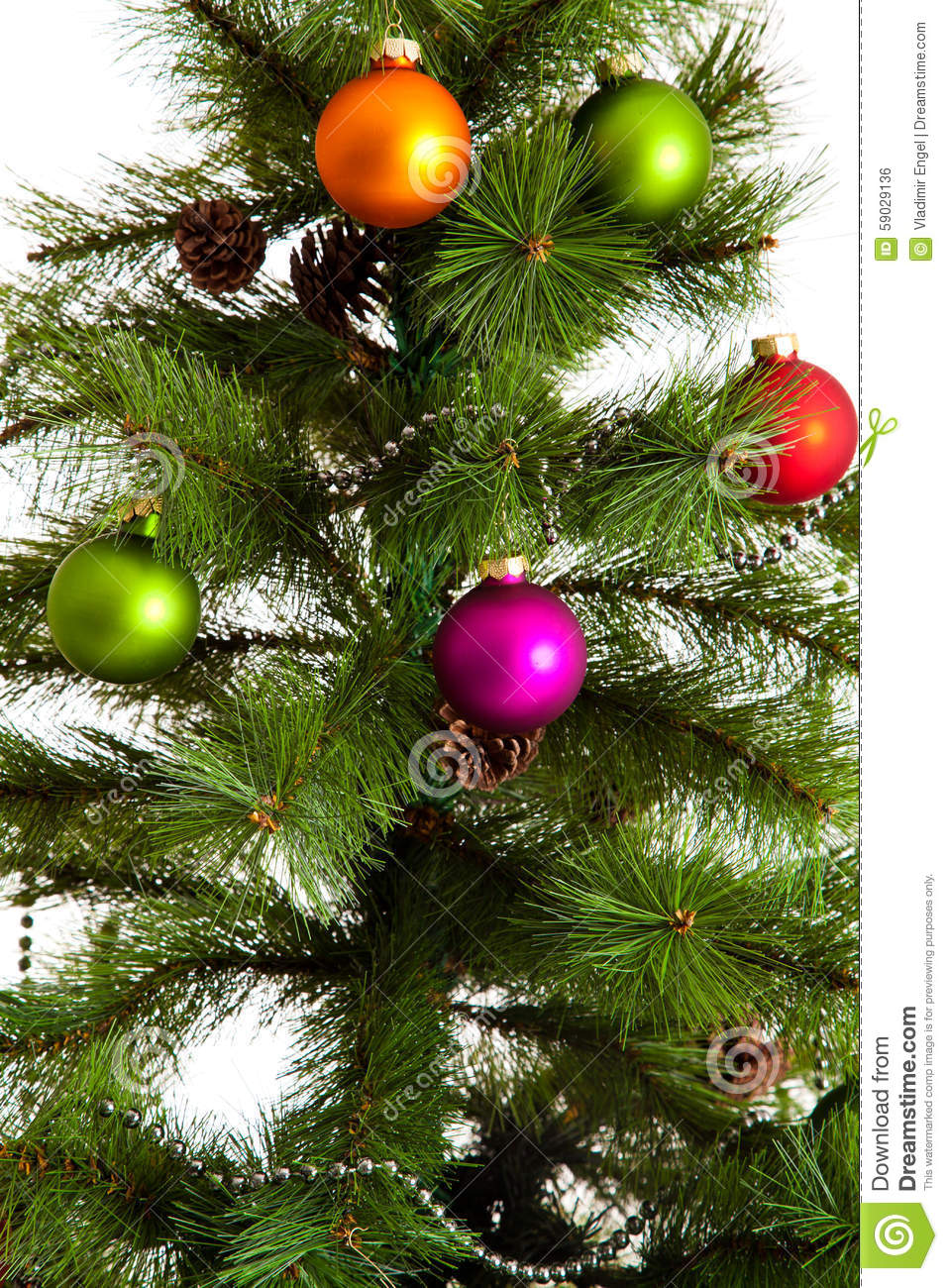 Isolated Christmas-tree Decorations. 2016 Happy New Year ...