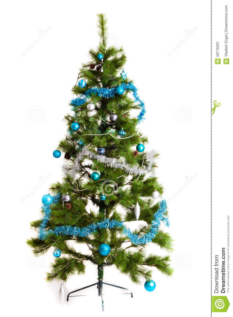 Isolated christmas tree decorations 2016 happy new year for New christmas decorations