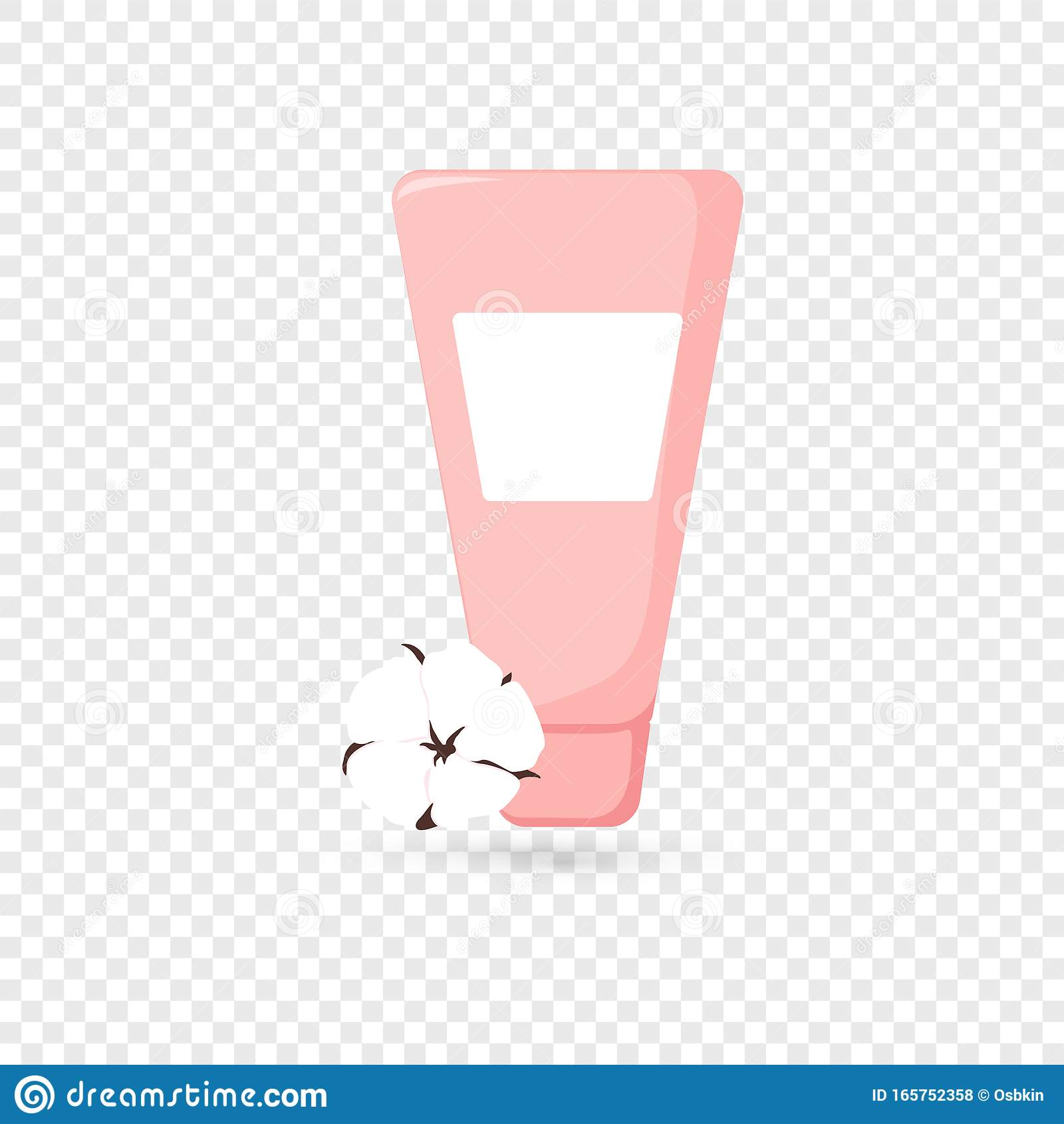 Isolated Cute Skin Care Cosmetics Icon Stock Vector Illustration Of Cleancer Cosmetic 165752358