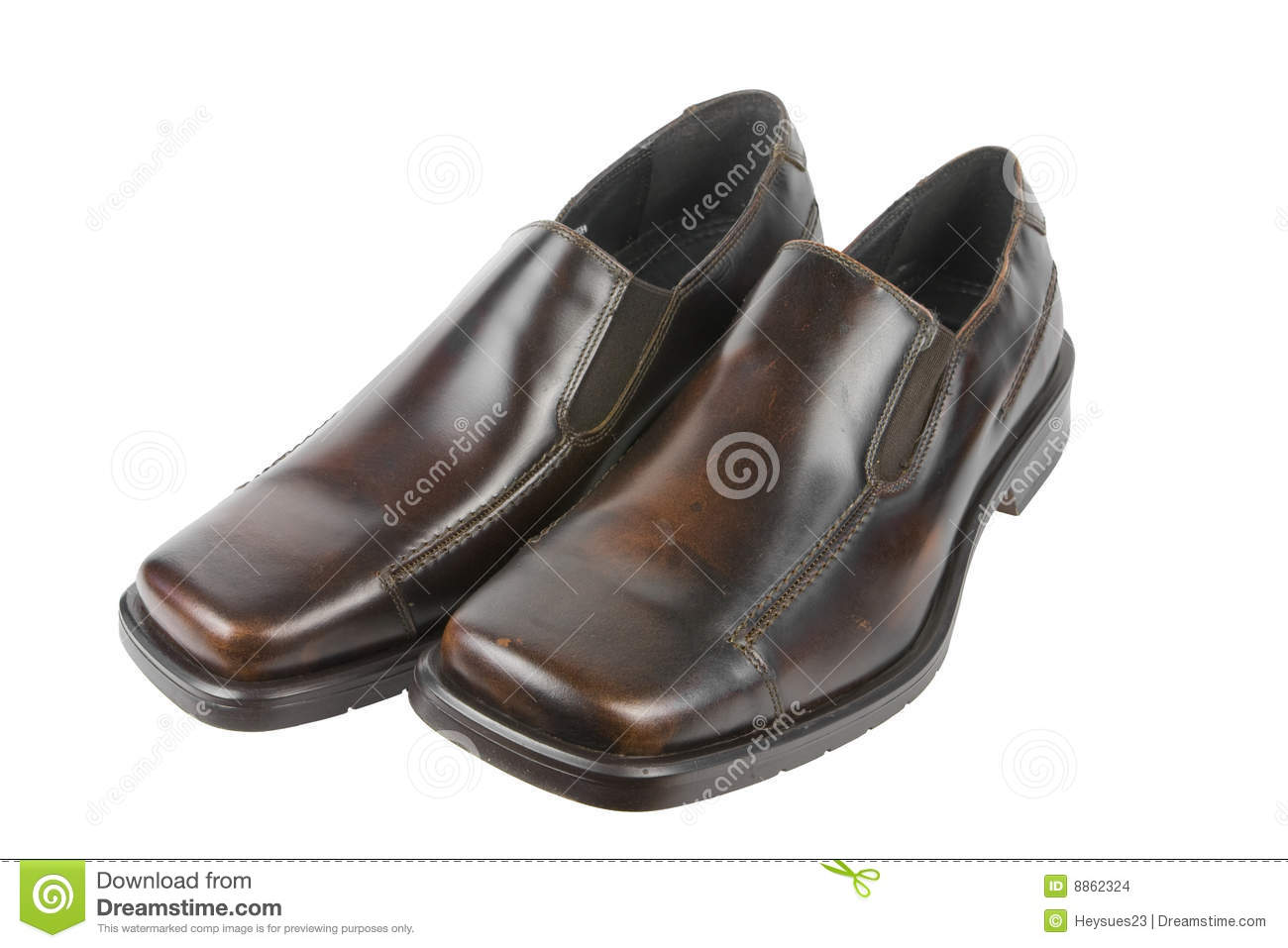 Isolated Dress Shoes Stock Images Image 8862324