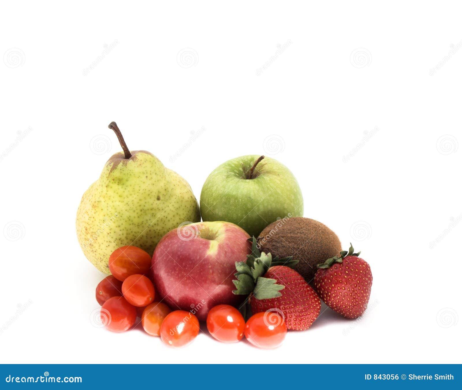 Isolated fruit and veg