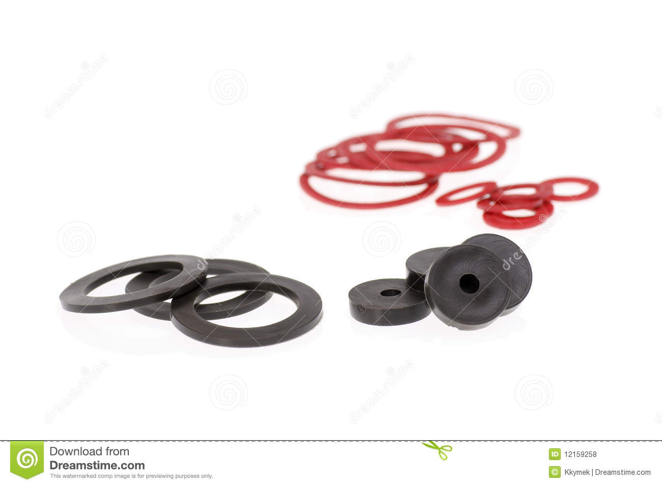 Isolated gaskets