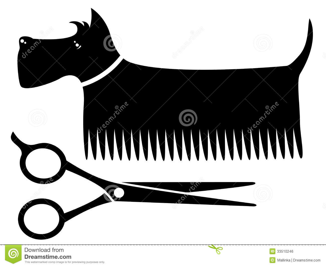 how to hold scissors for dog grooming