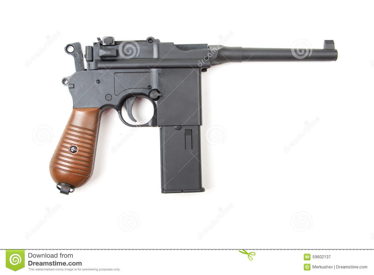 gun white background - photo #10