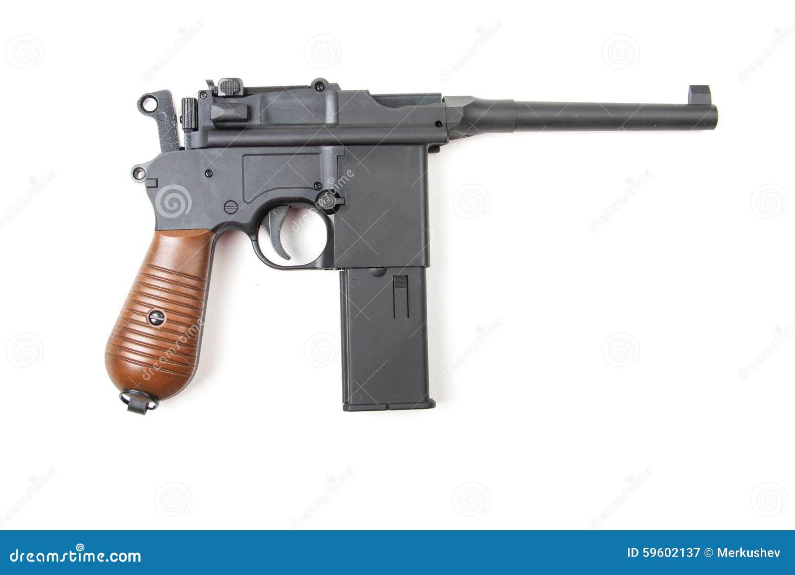 gun white background - photo #10