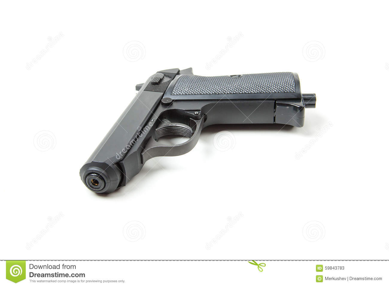 gun white background - photo #39