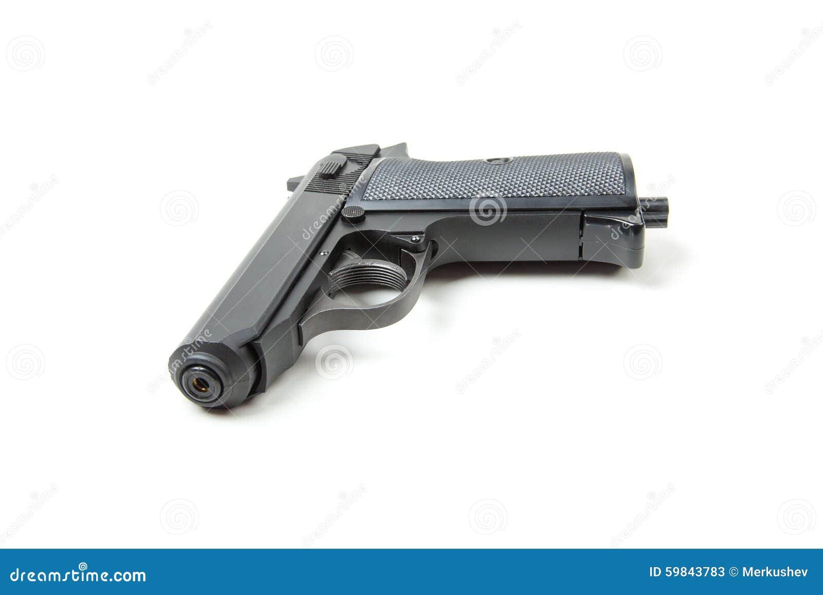 gun white background - photo #39