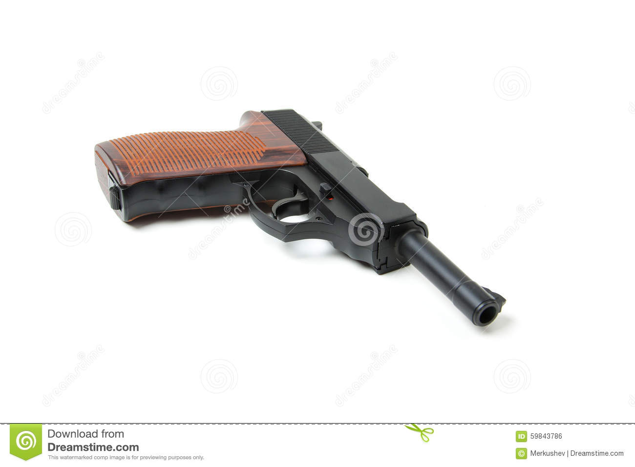 gun white background - photo #33