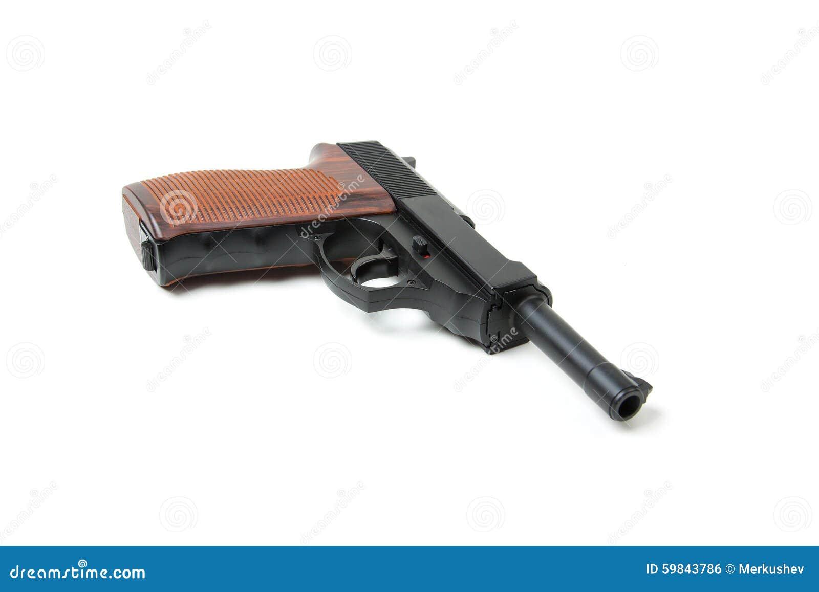 gun white background - photo #33