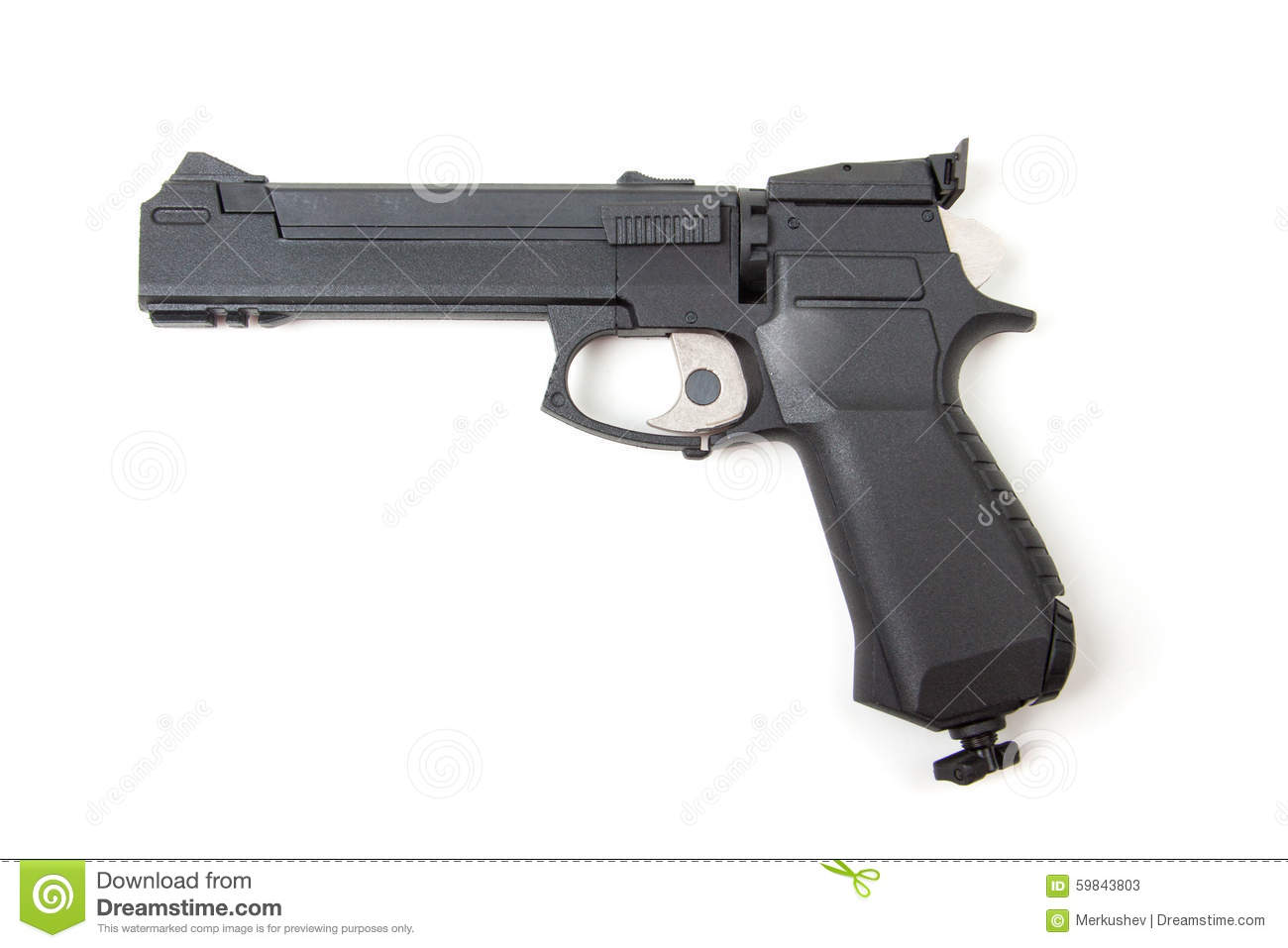 gun white background - photo #29