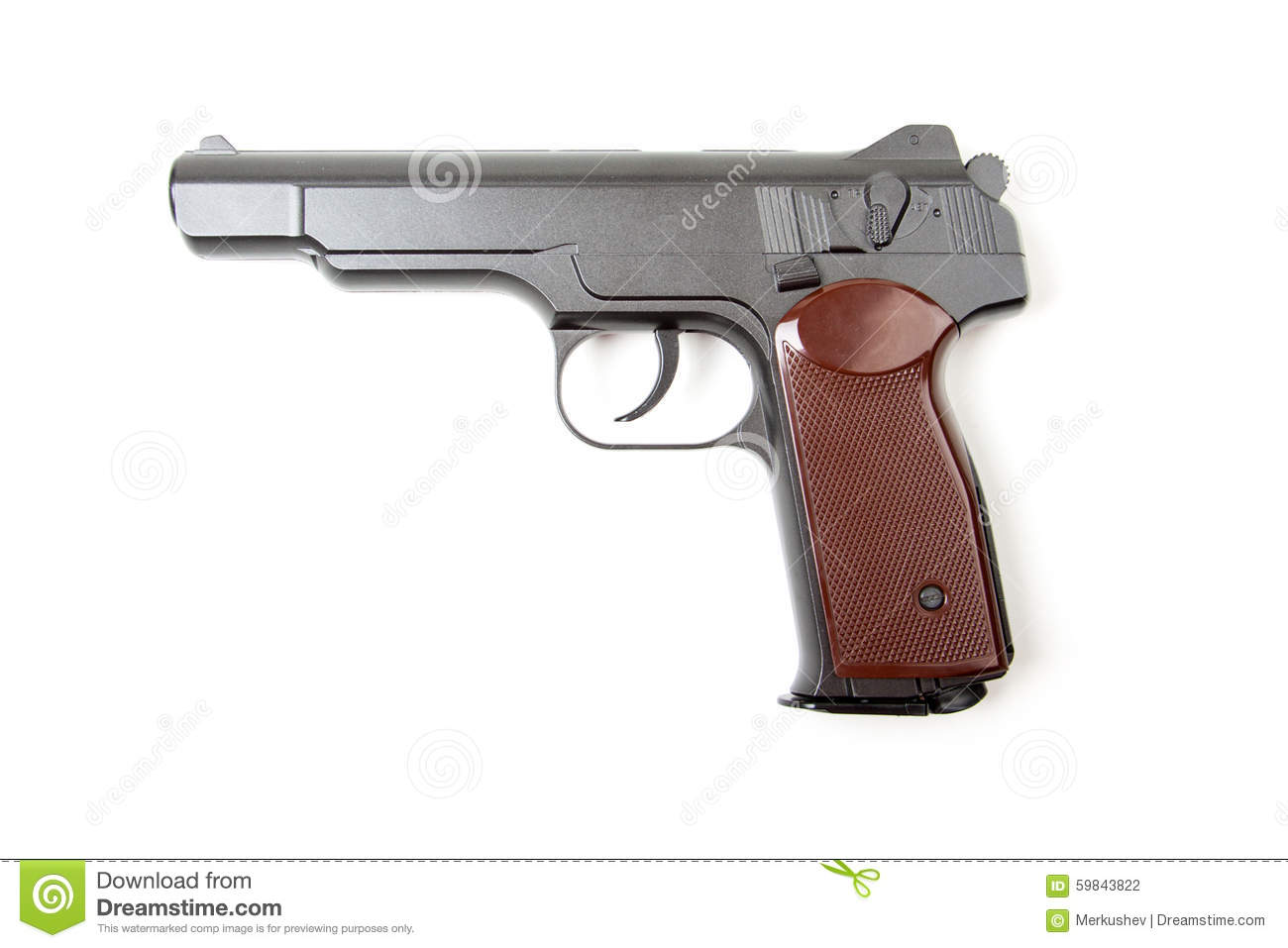 gun white background - photo #48