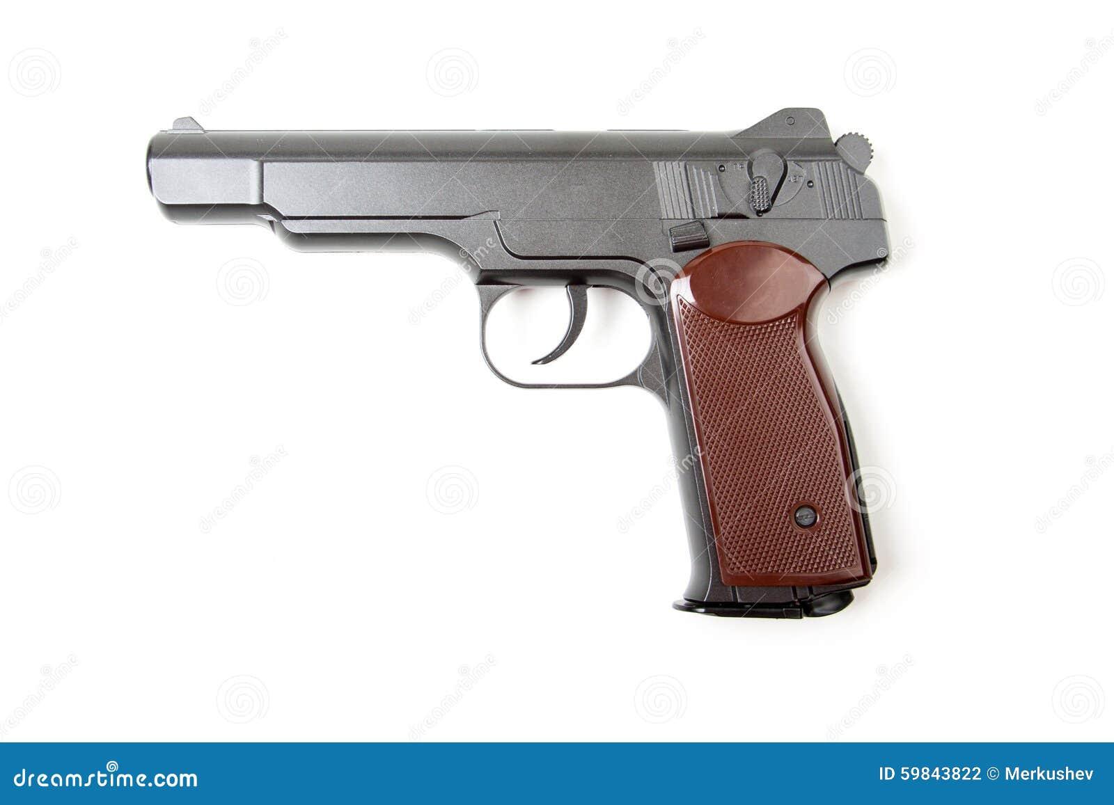 gun white background - photo #48