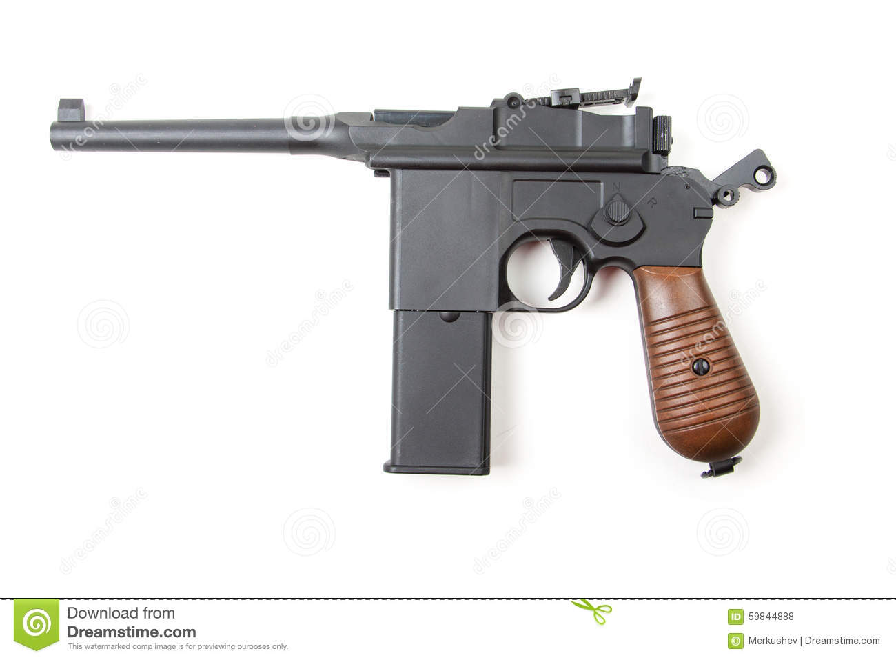 gun white background - photo #32