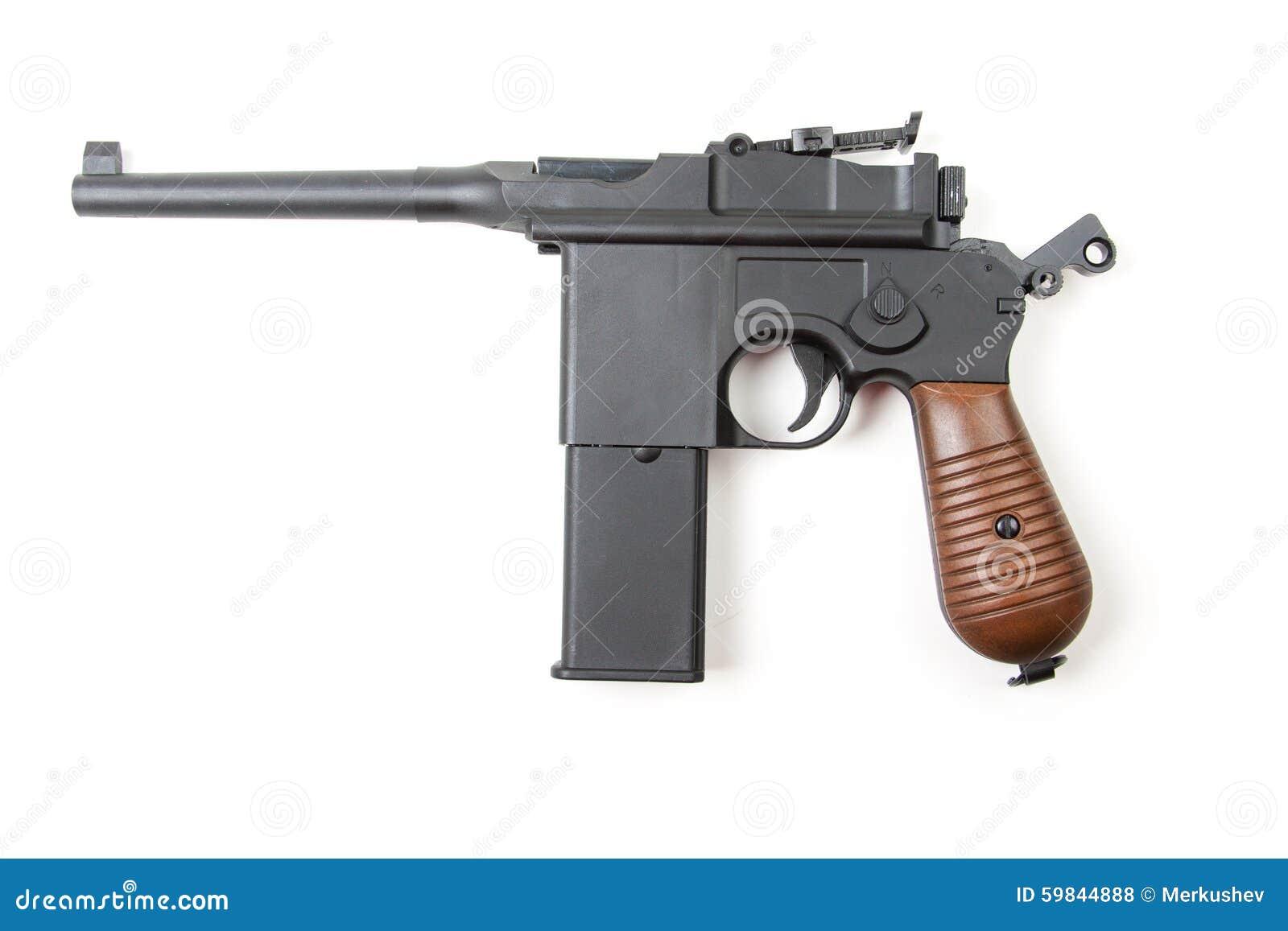 gun white background - photo #32