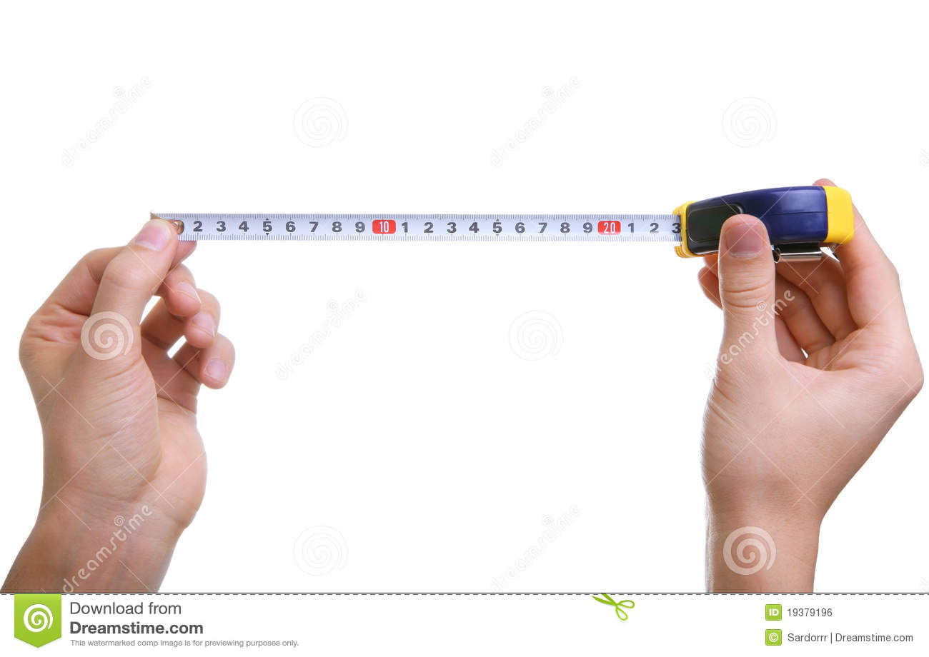 How to measure using measuring tape