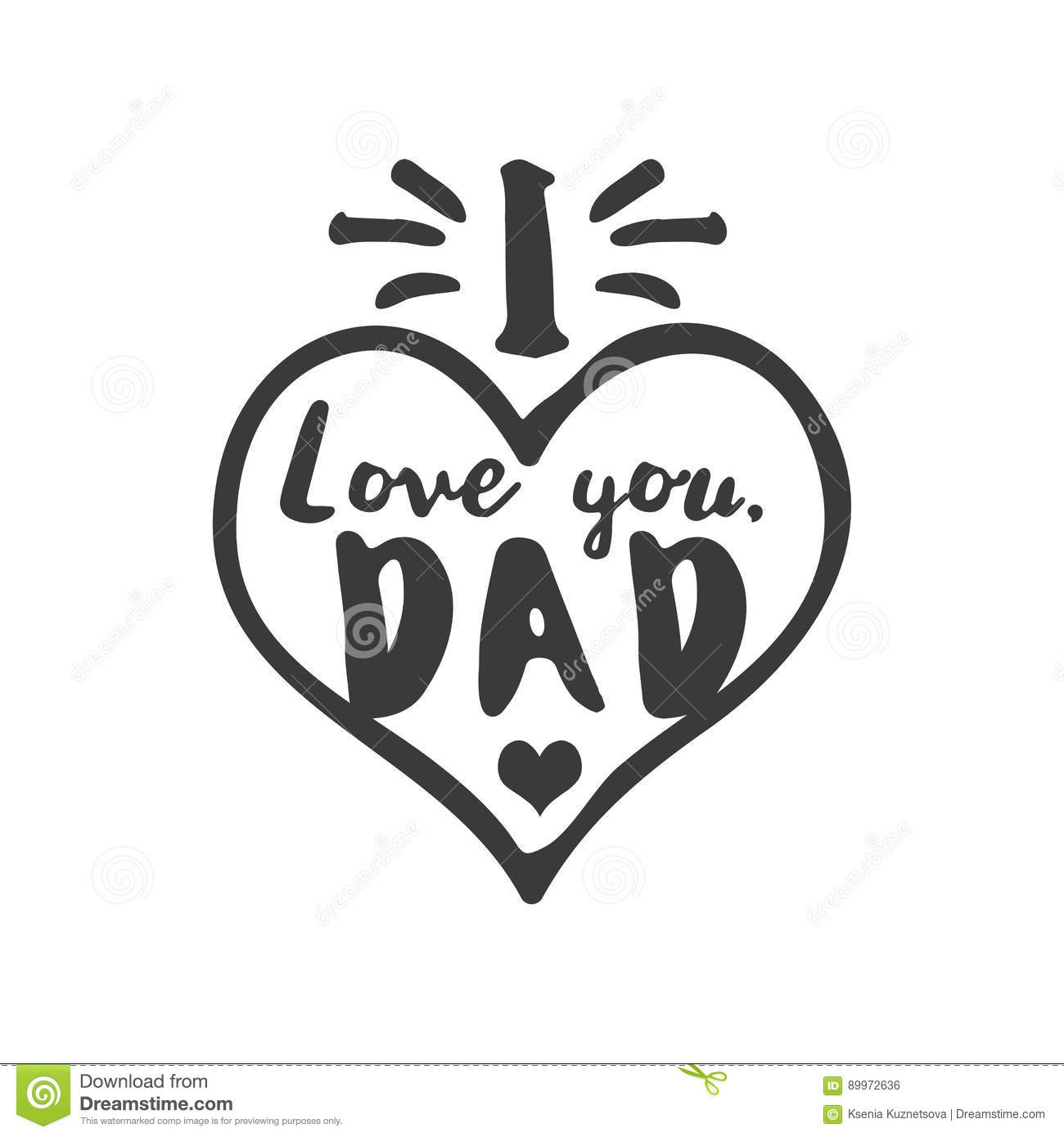 Ever cartoons illustrations vector stock images 1544 - I love you daddy download ...