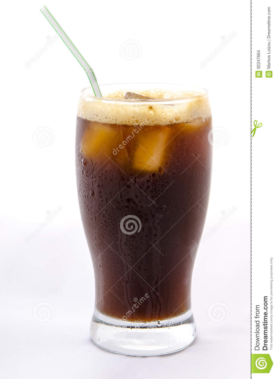Isolated Iced Coffee Stock Photo Image Of Greece Droplet
