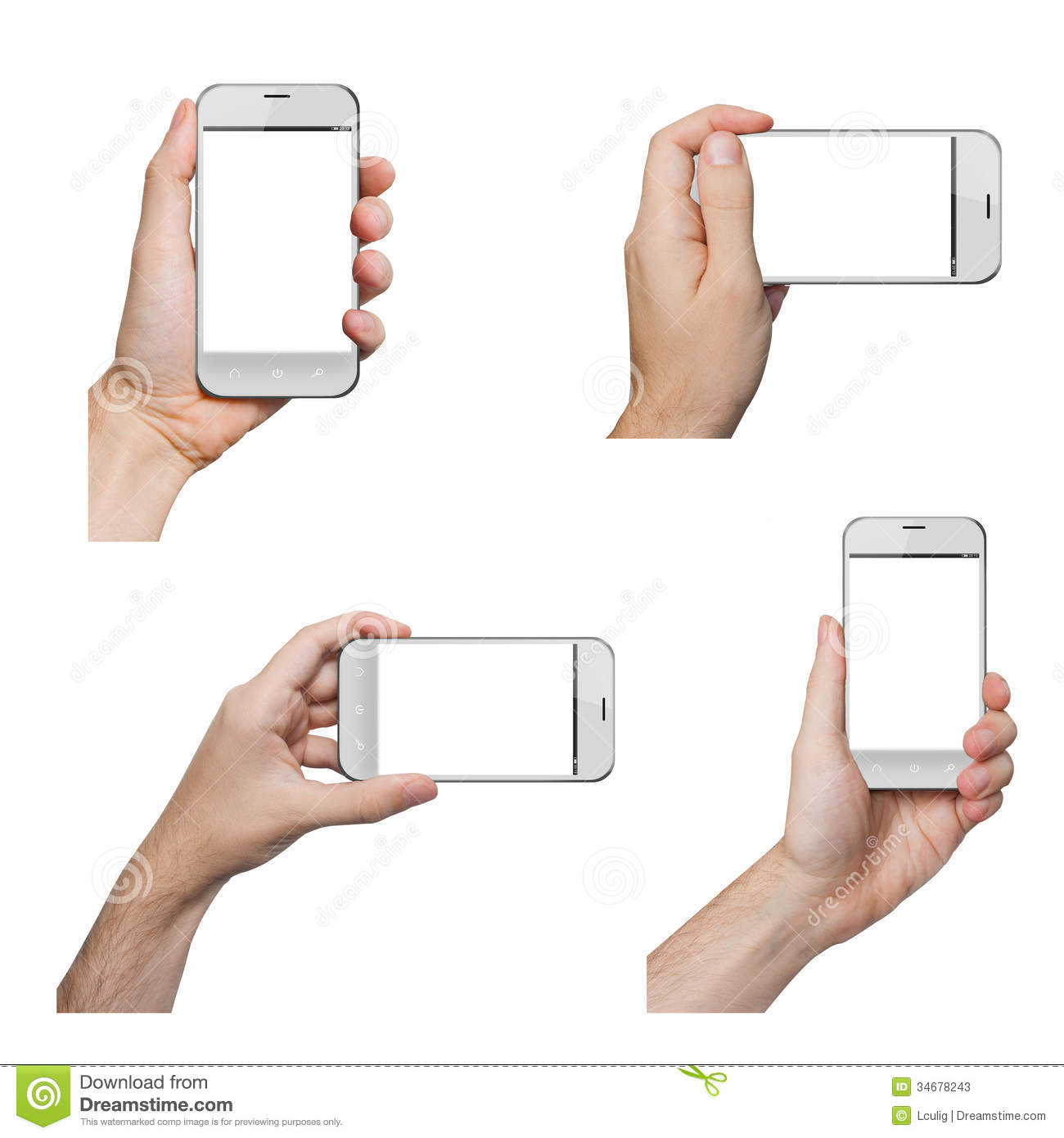 how to hold iphone for video