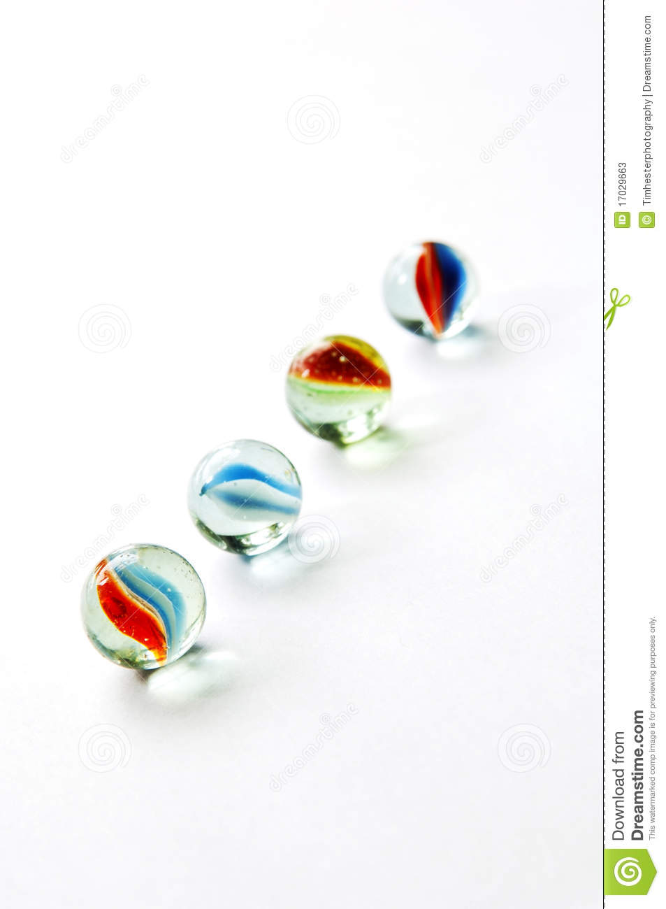 Bright Colored Marbles : Isolated marbles stock photos image