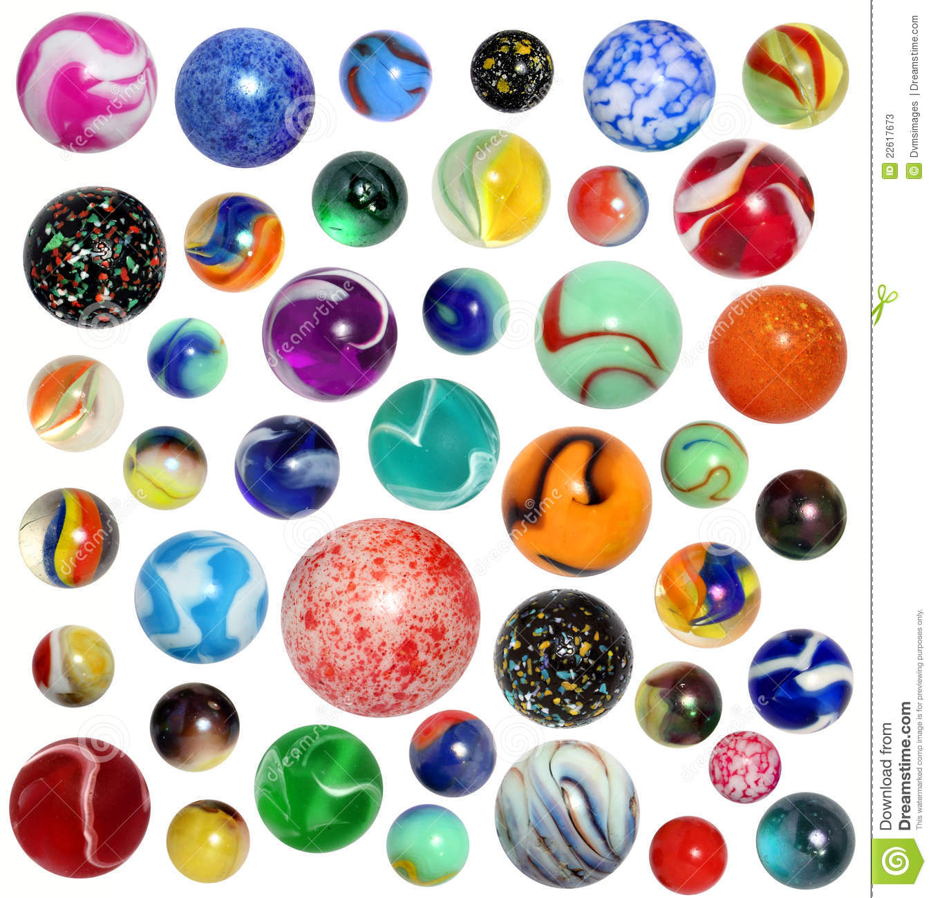 Isolated Marbles Stock Photos Image 22617673