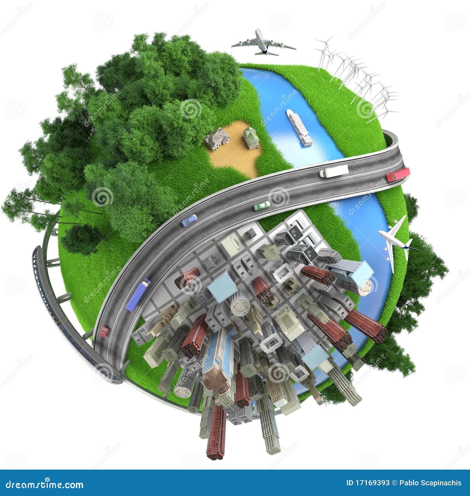 Isolated Miniature Globe Tranports Stock Photos Image 17169393