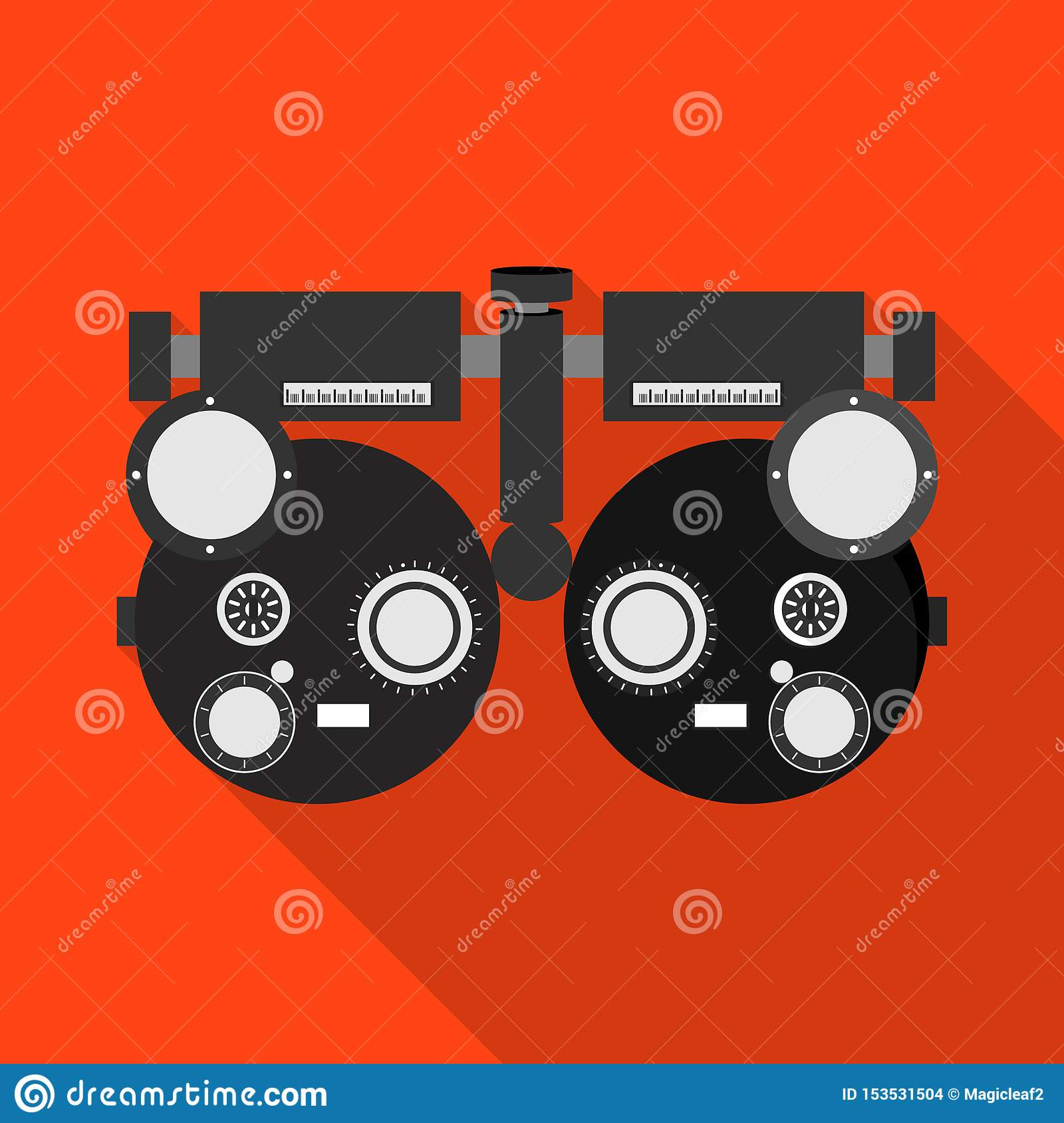 Isolated Object Of Gadget And Optometrist Logo. Set Of ...
