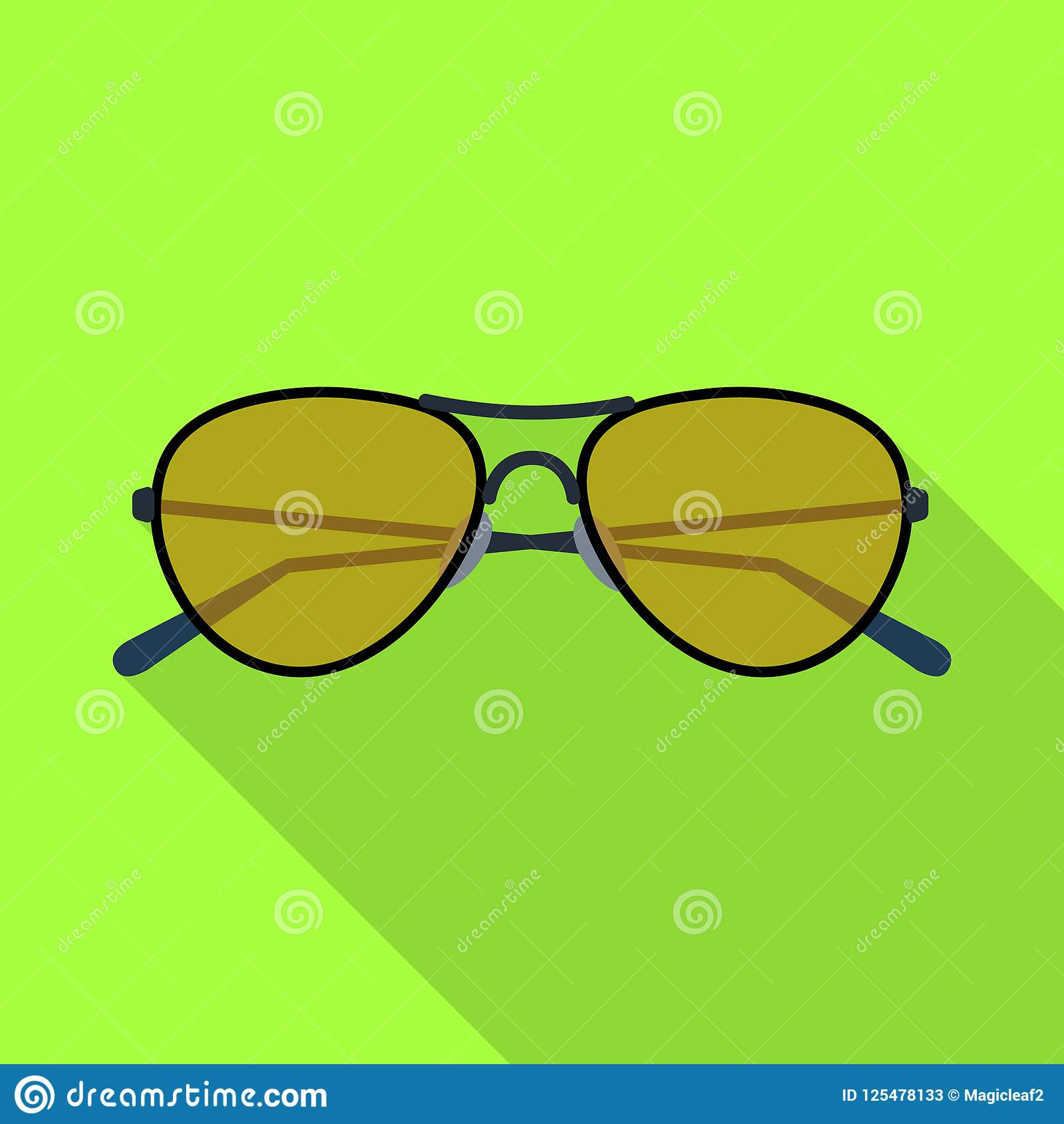 Isolated Object Of Glasses And Sunglasses Symbol Set Of Glasses And