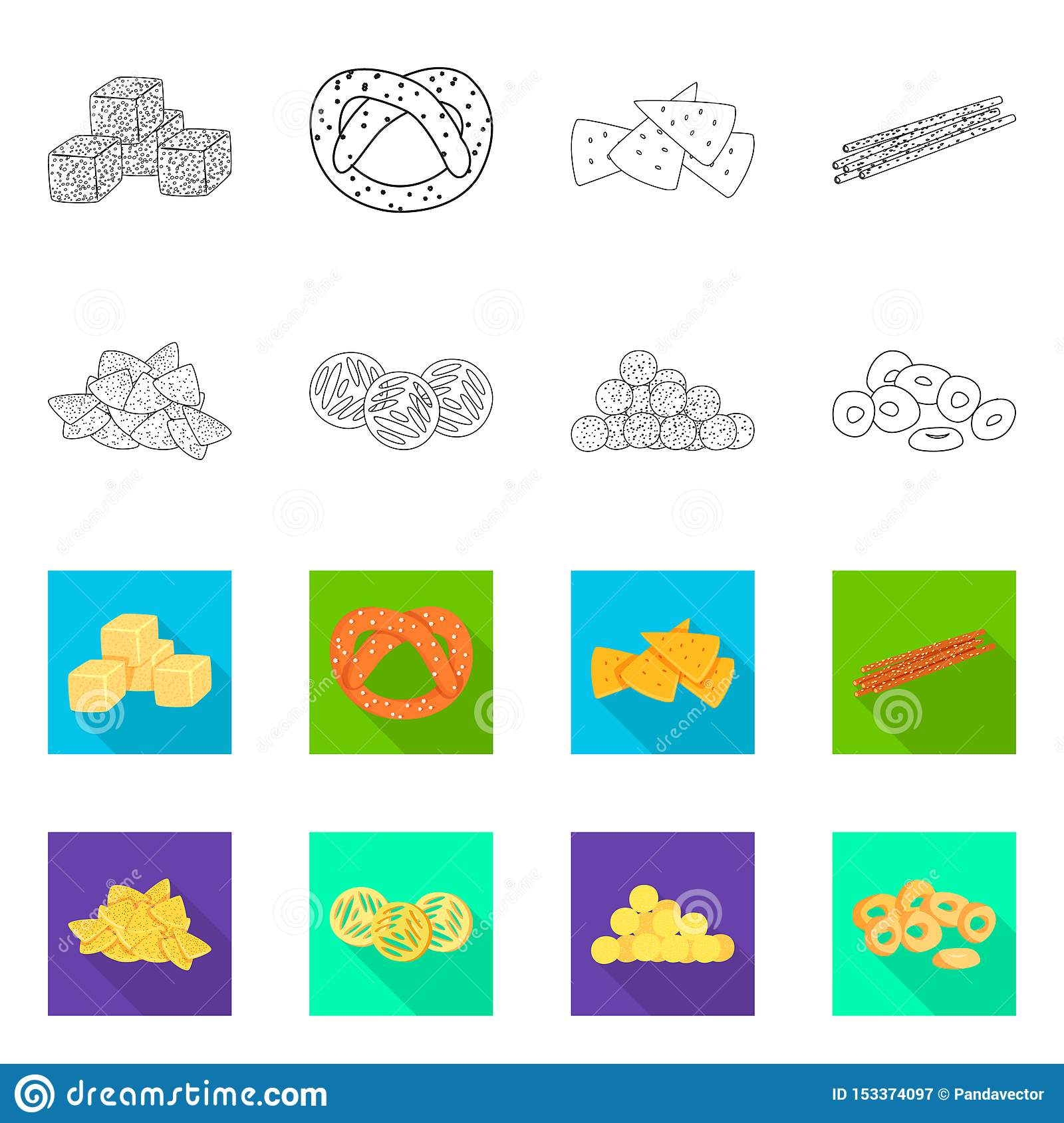 Isolated object of Oktoberfest and bar logo. Set of Oktoberfest and cooking vector icon for stock.