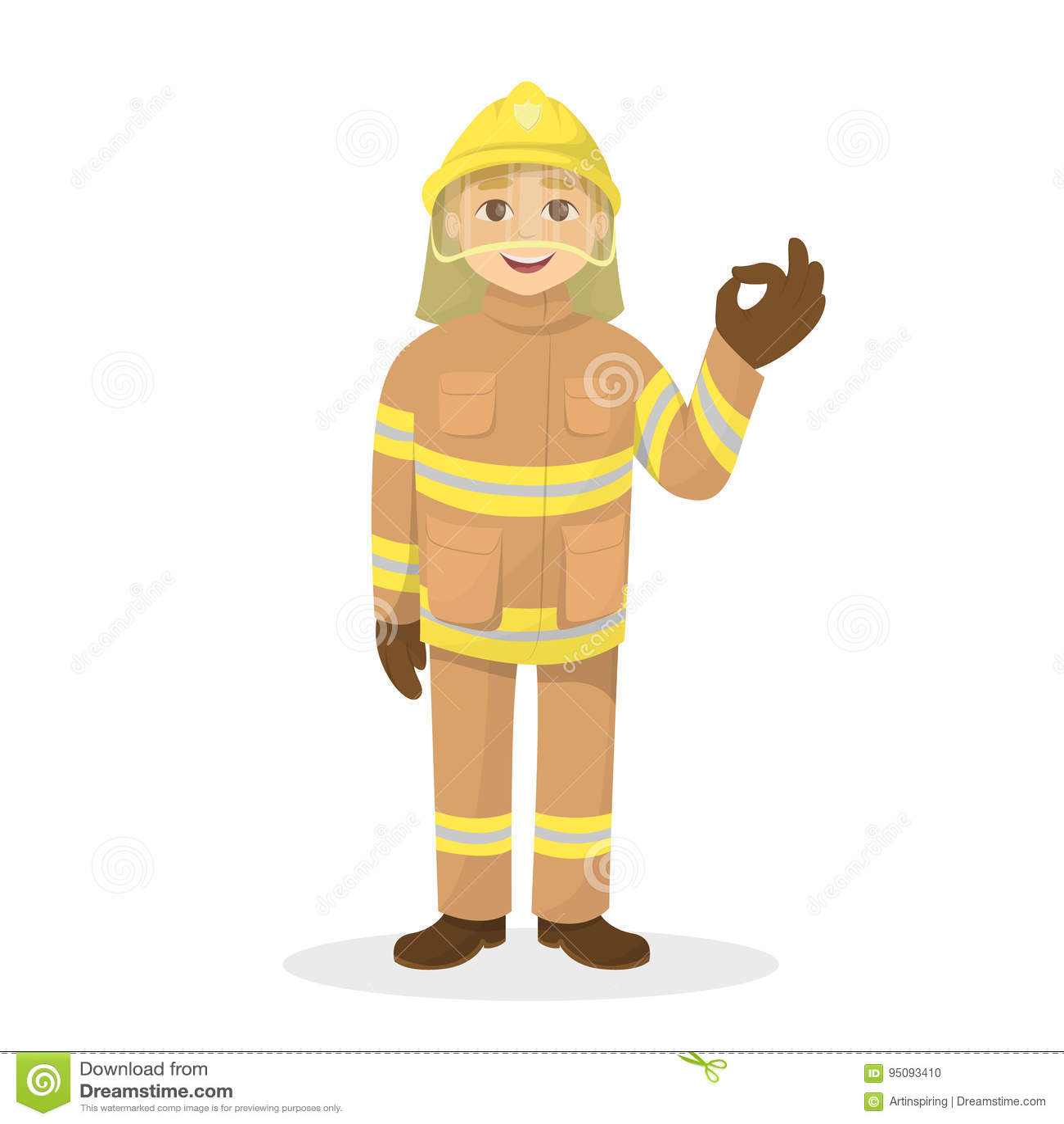 Firemen doing it in isolation