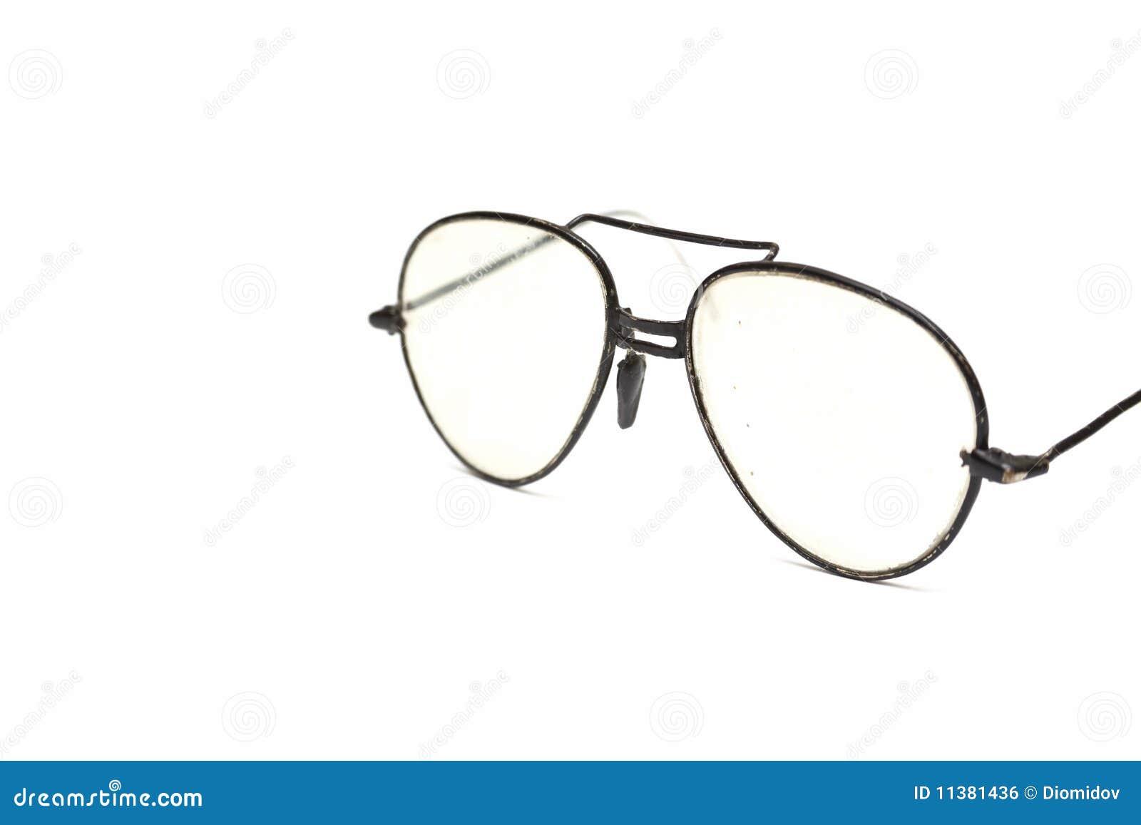 Broken Glasses Frame Dream : Isolated Old Broken Glasses Royalty Free Stock Image ...