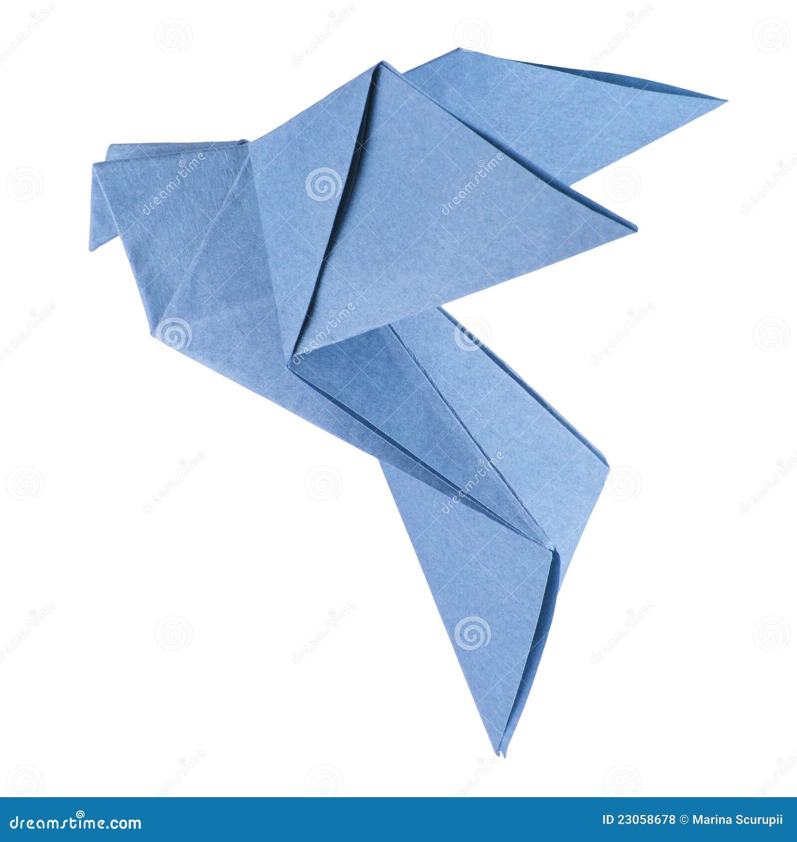 Isolated Origami Dove Royalty Free Stock Photos - Image ... - photo#22