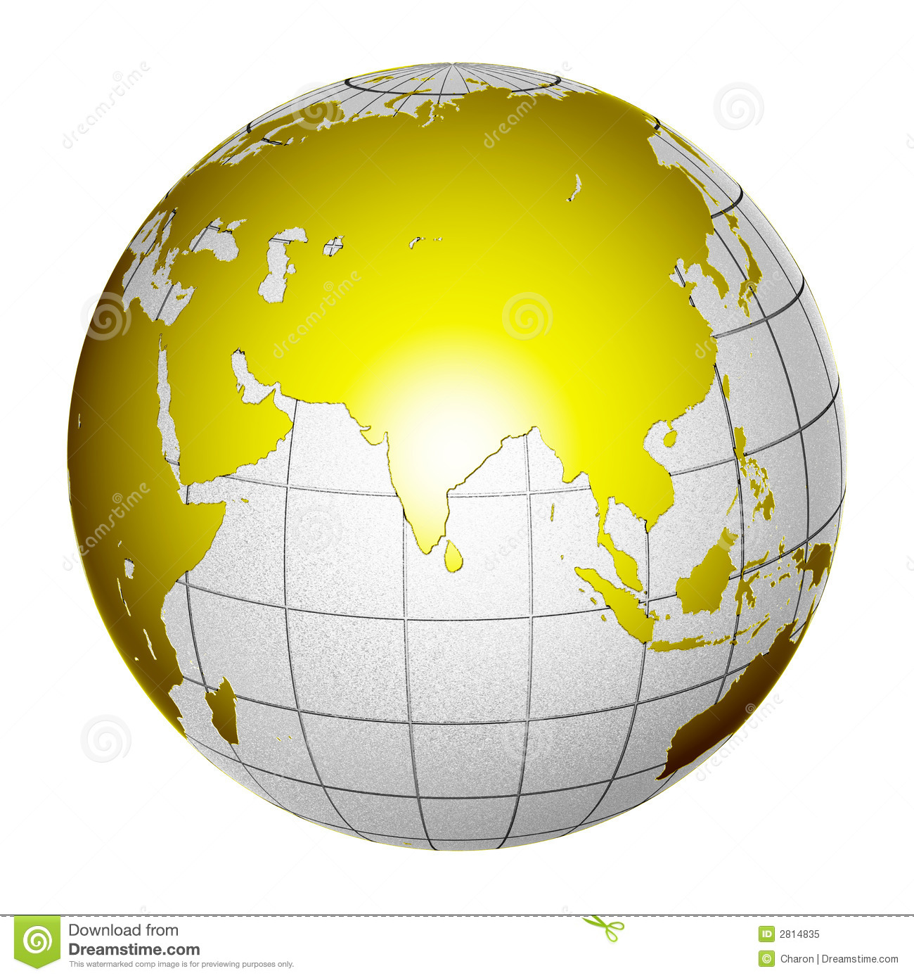 Planet globe earth 3d isolated stock illustration illustration planet globe earth 3d isolated india core gumiabroncs Image collections