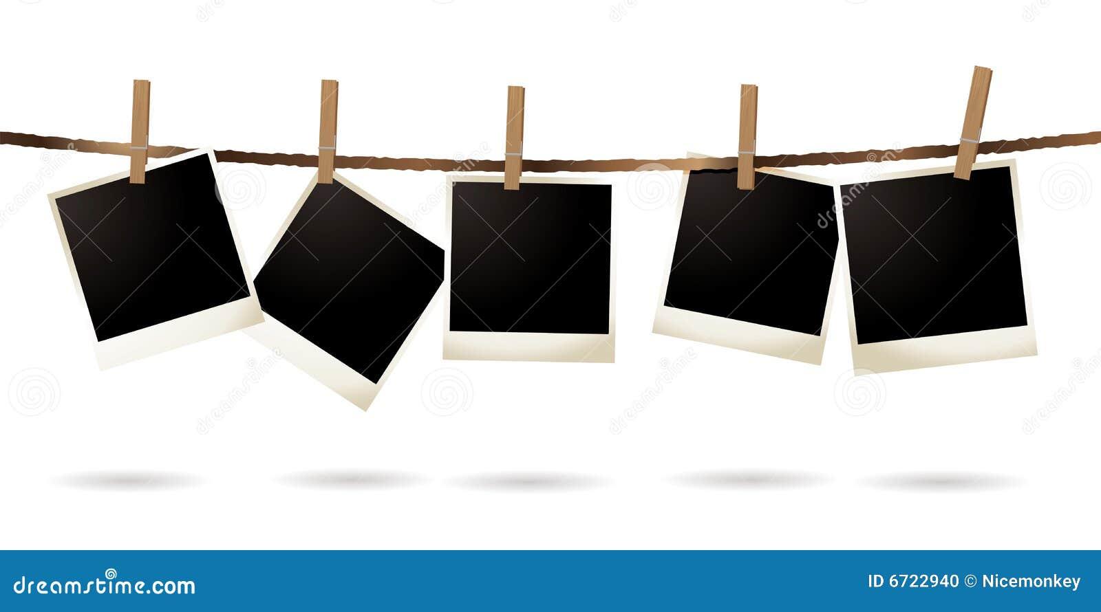 Isolated Polaroid Stock Photo - Image: 6722940