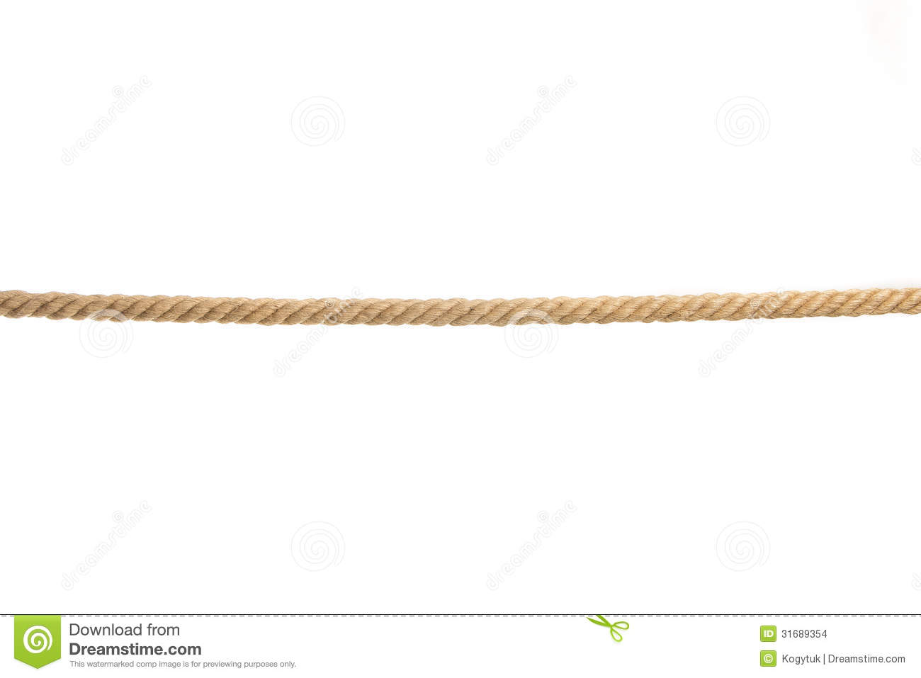 Isolated rope stock photo. Image of remote, ropes, white ...