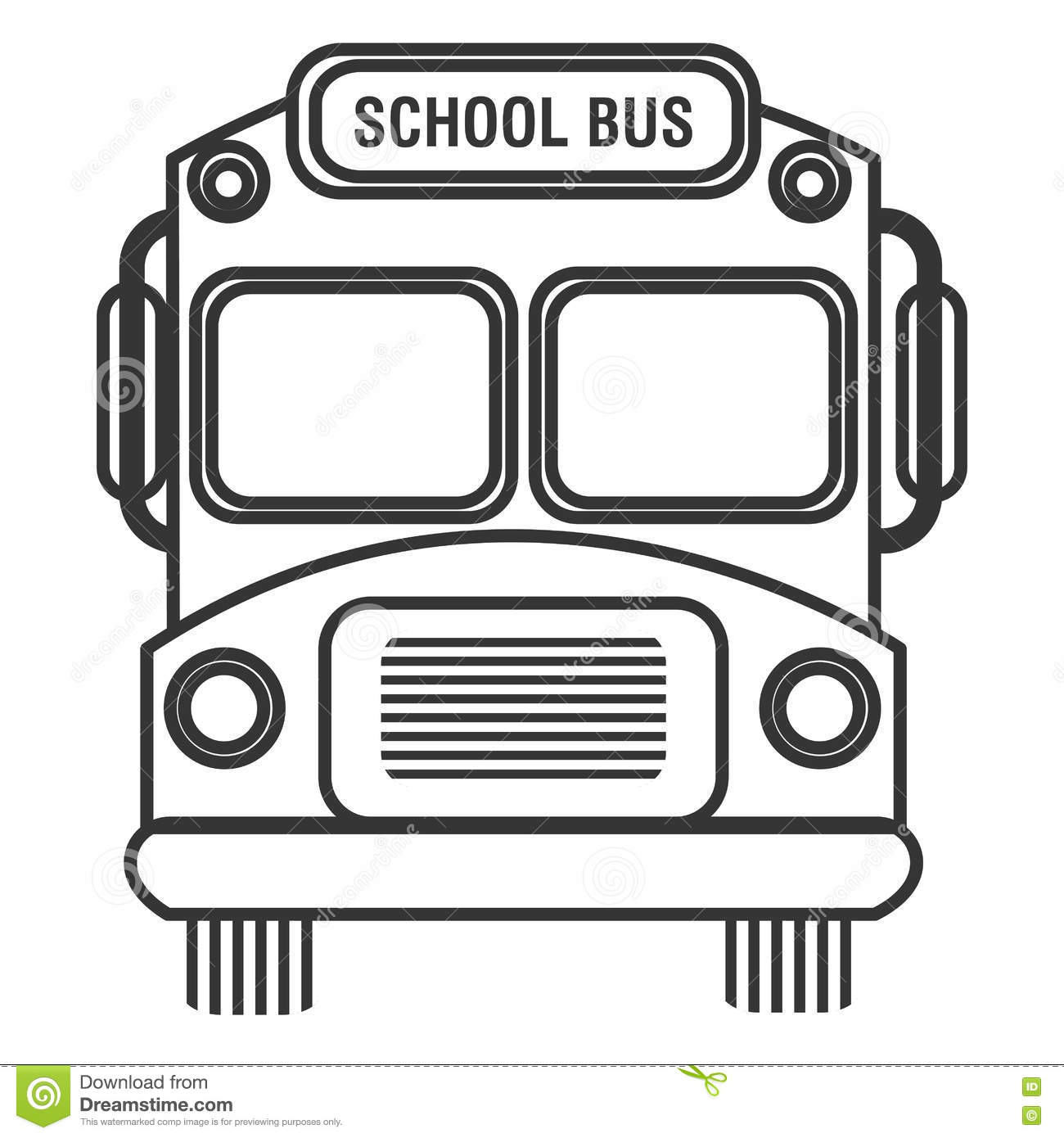 black and white vector school bus best graphic sharing