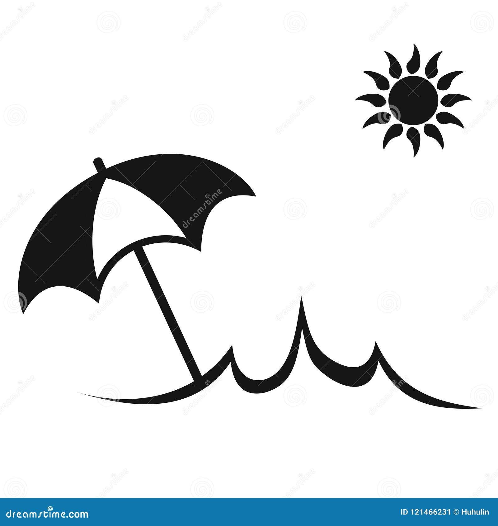 simple sun summer umbrella beach icon stock vector illustration of icon sunny 121466231 https www dreamstime com isolated simple sun summer umbrella beach icon white background simple sun summer umbrella beach icon image121466231