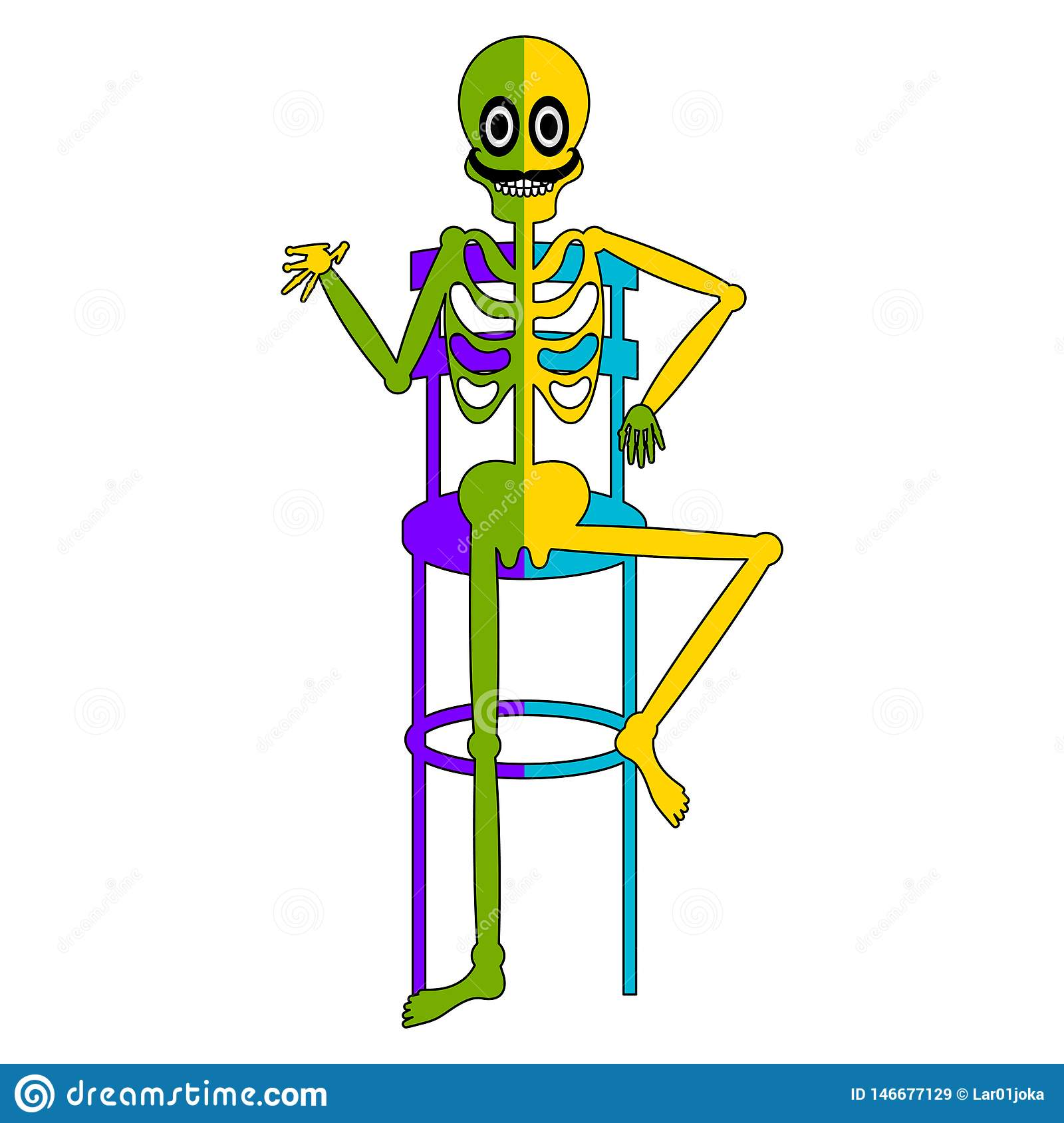Sitting In A Chair Clipart