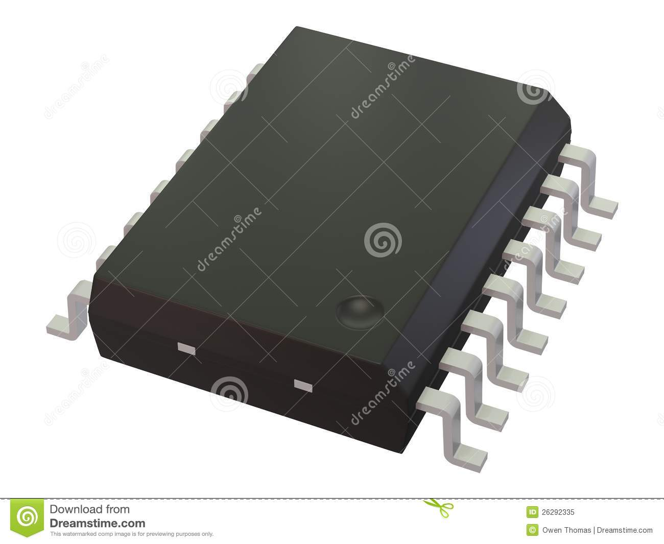 Integrated Circuit At A Tech Conference In The United States The