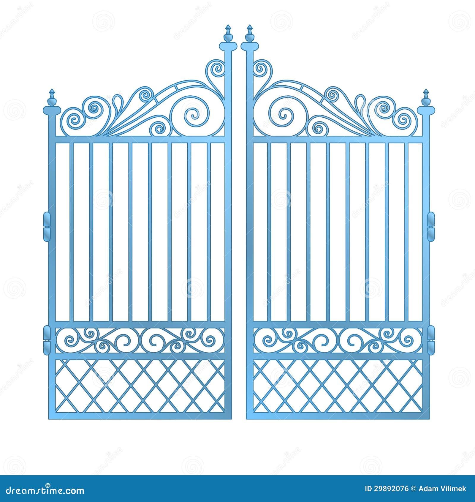 Ворота вход ico ворота с двигателем