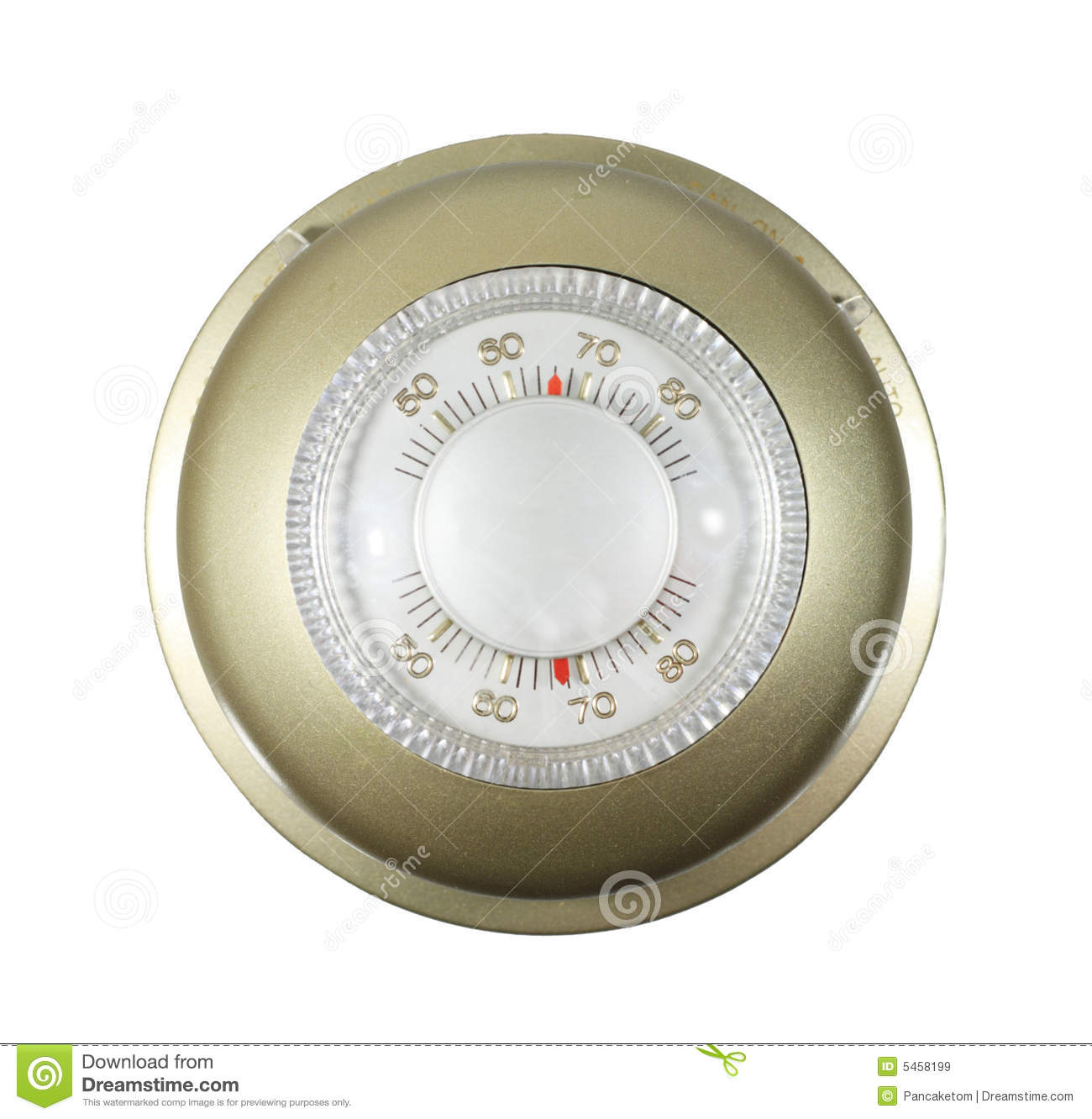 Isolated Thermostat Royalty Free Stock Images Image: 5458199 #AE2D1D
