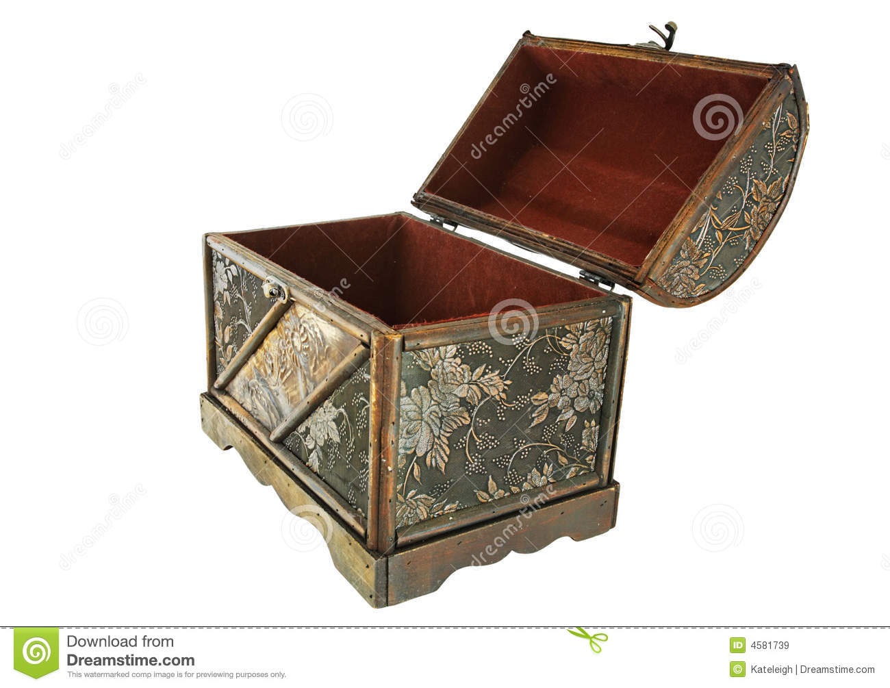 treasure chest isolated royalty free stock photography image