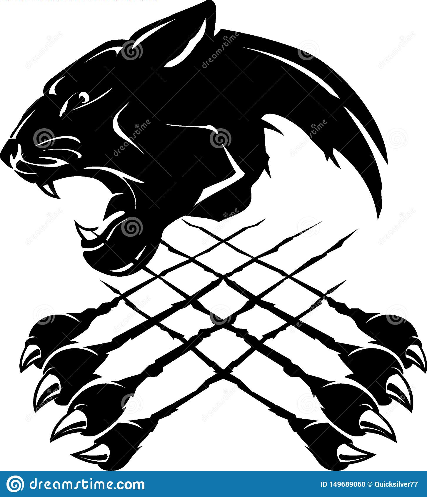 Black Mouth Open Panther Stock Illustrations 48 Black Mouth Open Panther Stock Illustrations Vectors Clipart Dreamstime