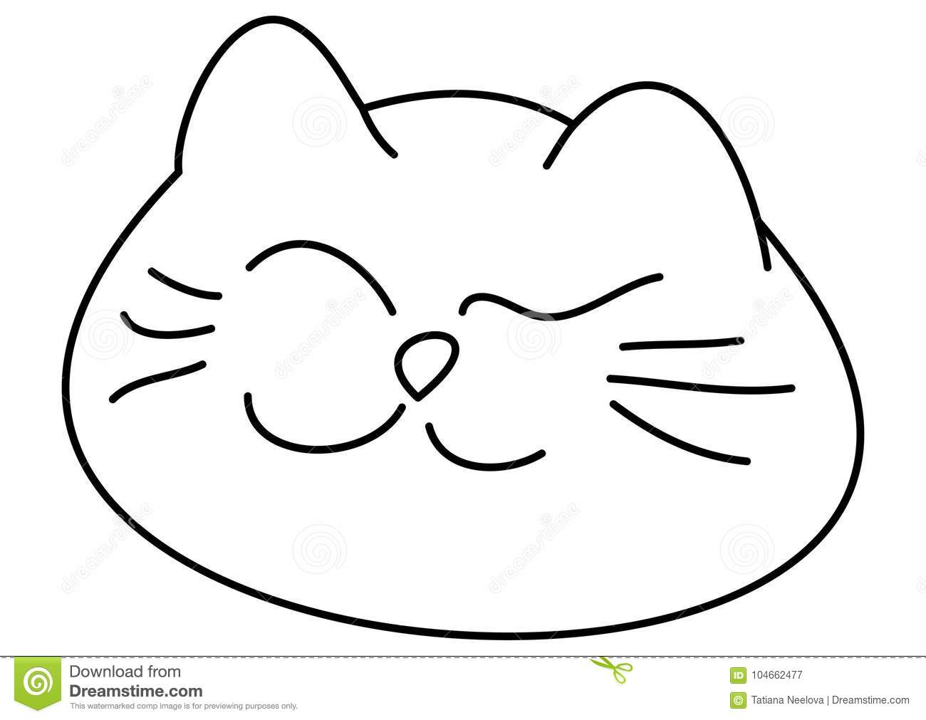 cute bobcat vector illustration art cartoon vector