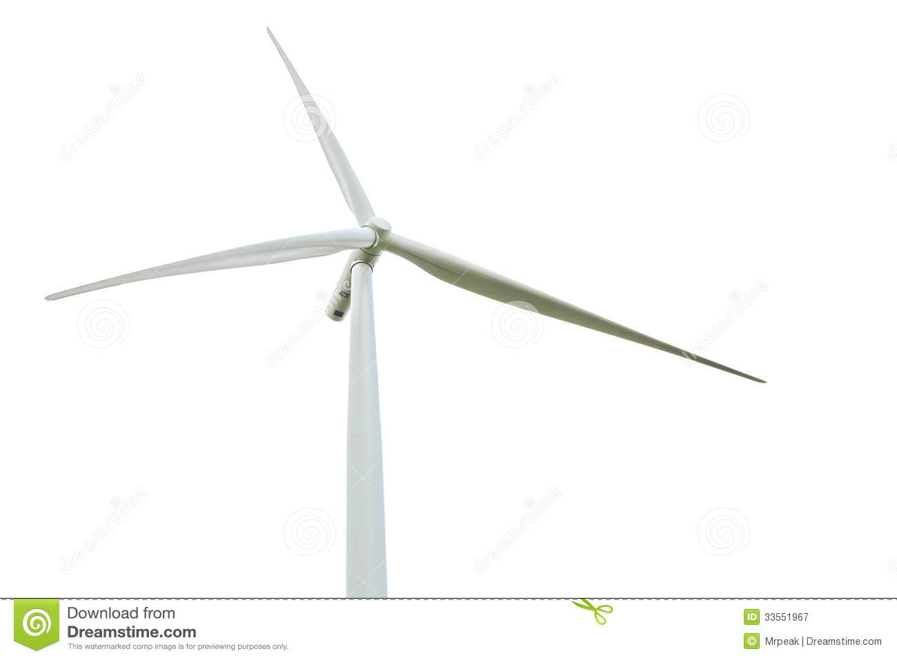 Wind Turbine Clipart No Background Isolated wind turbine