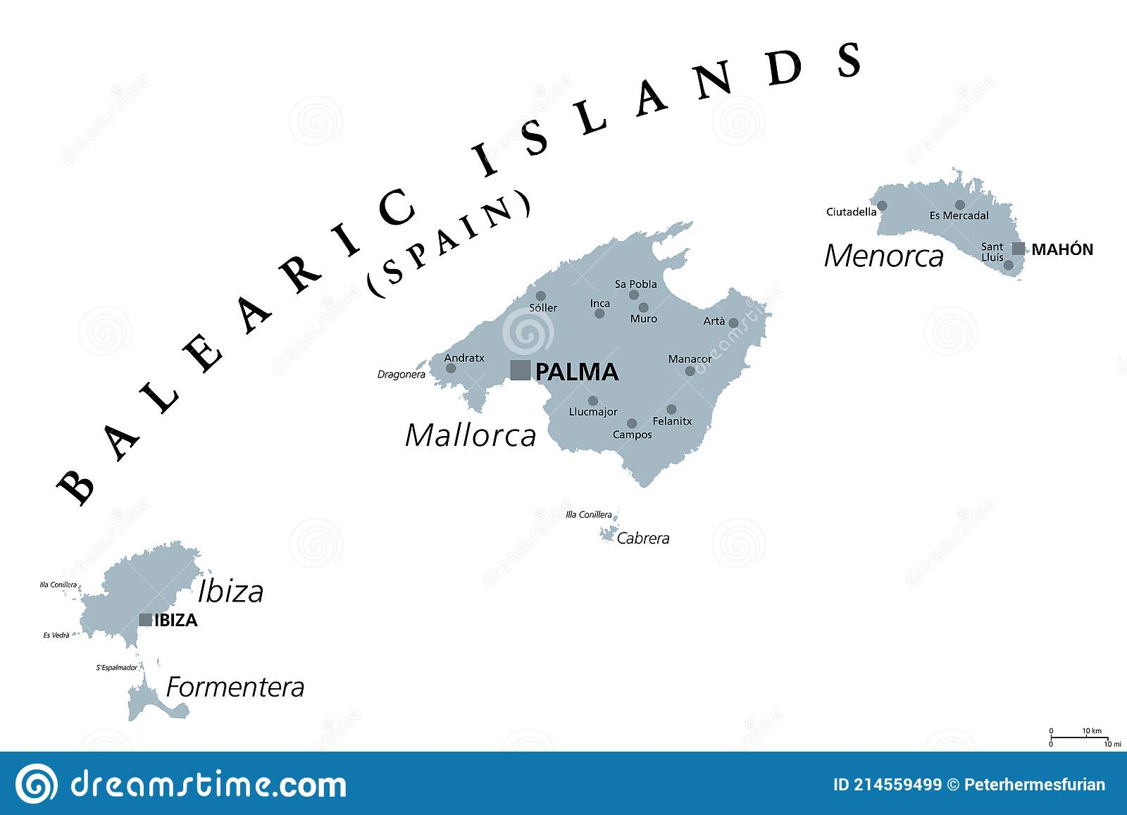 Cartina Geografica Spagna E Formentera.Ibiza Illustrazioni Vettoriali E Clipart Stock 1 207 Illustrazioni Stock