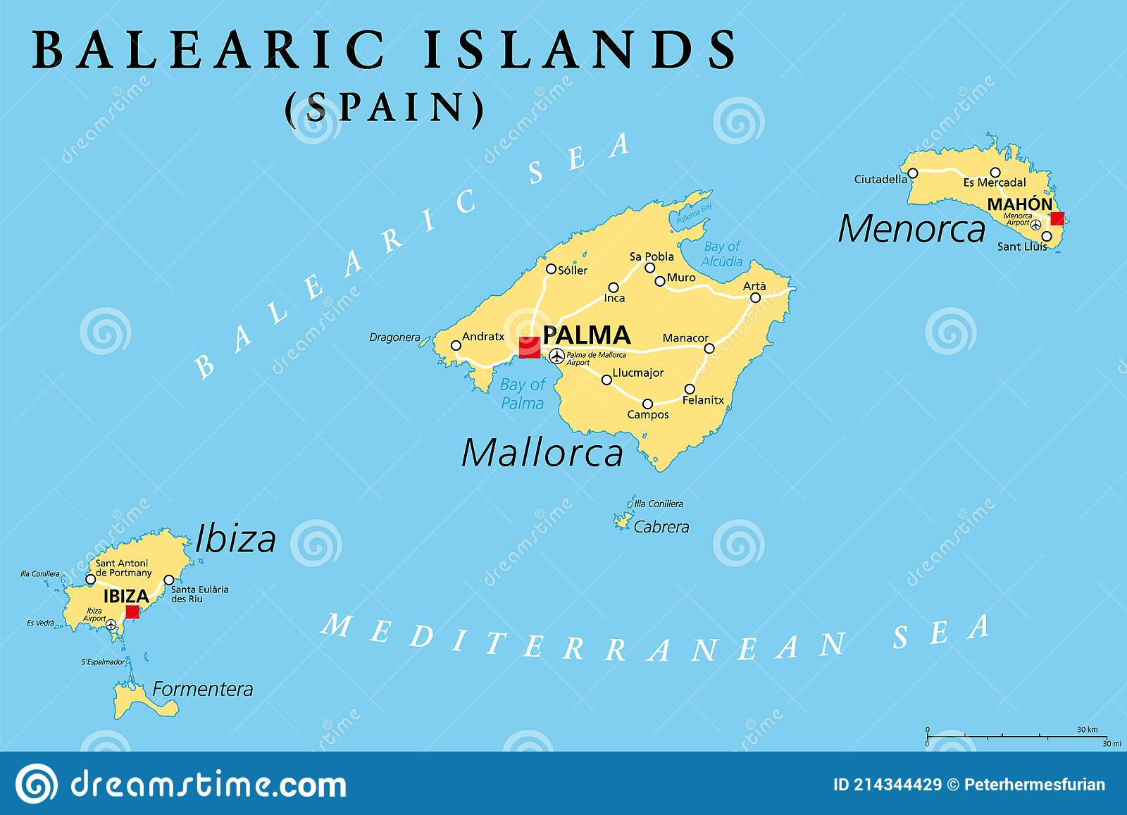 Spagna Ibiza Cartina Geografica.Ibiza Illustrazioni Vettoriali E Clipart Stock 1 207 Illustrazioni Stock