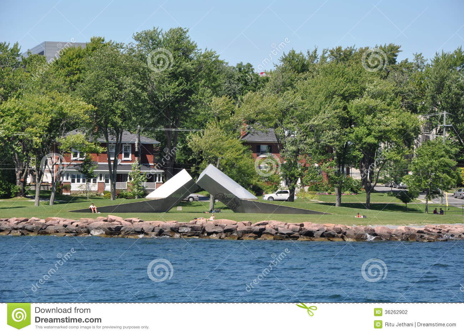1000 isole e Kingston in Ontario
