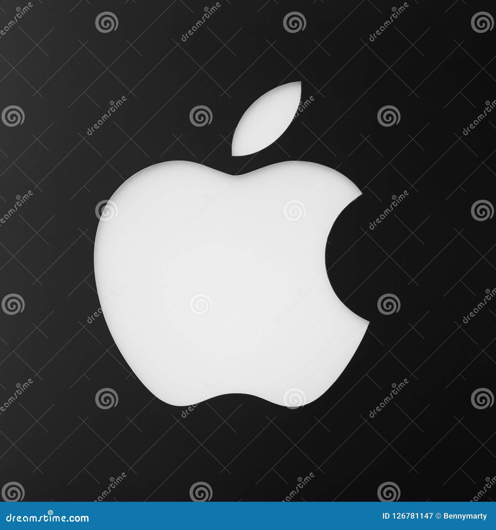 Isolerad Apple logo